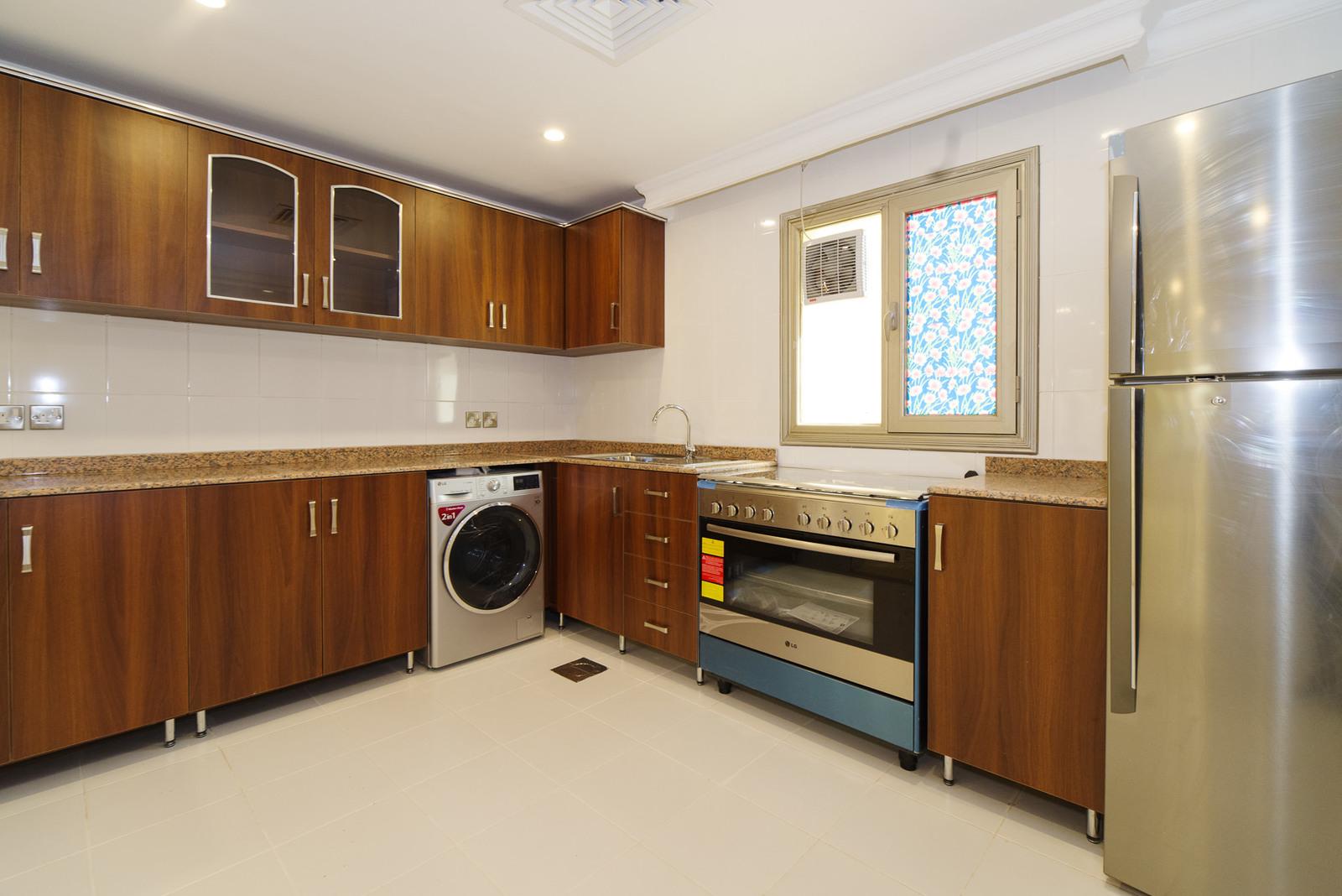 Salwa – newly rennovated, unfurnished, three bedroom ground floor apartment