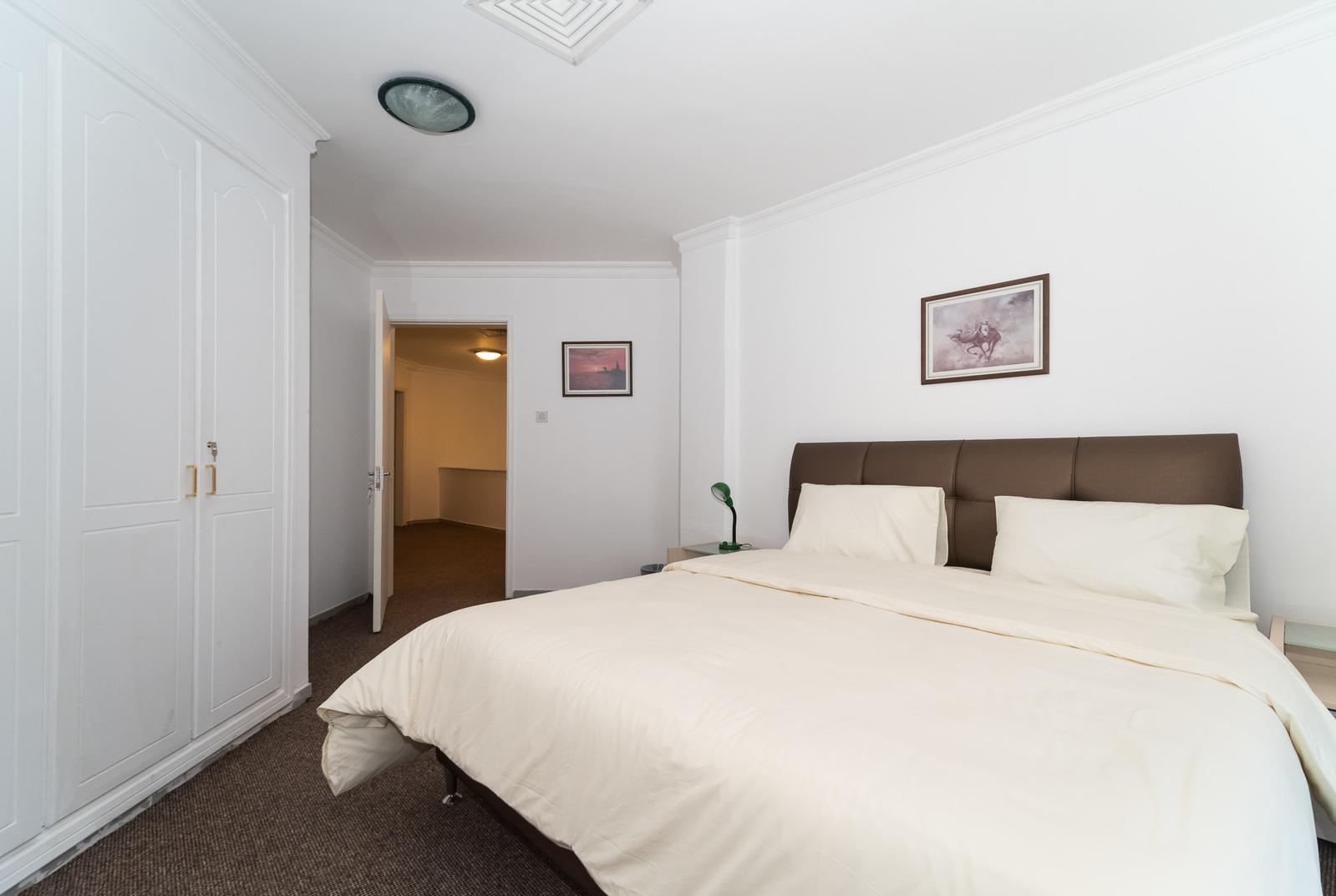 Salmiya – fully furnished, two bedroom duplex apartment w/pool