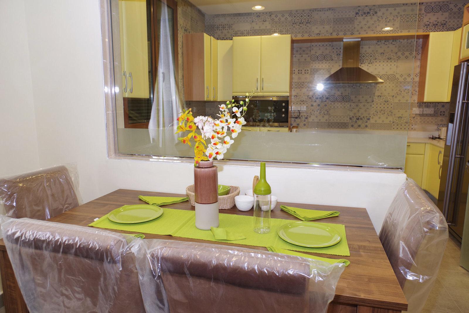 Bayan – furnished, spacious three bedroom apartments w/pool