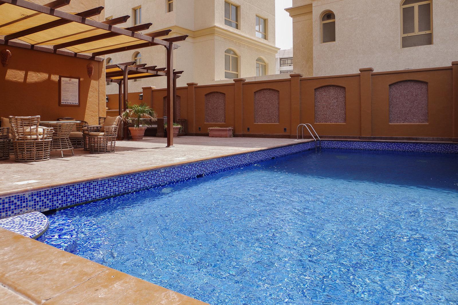 Salmiya – unfurnished, three bedroom sea view apartments