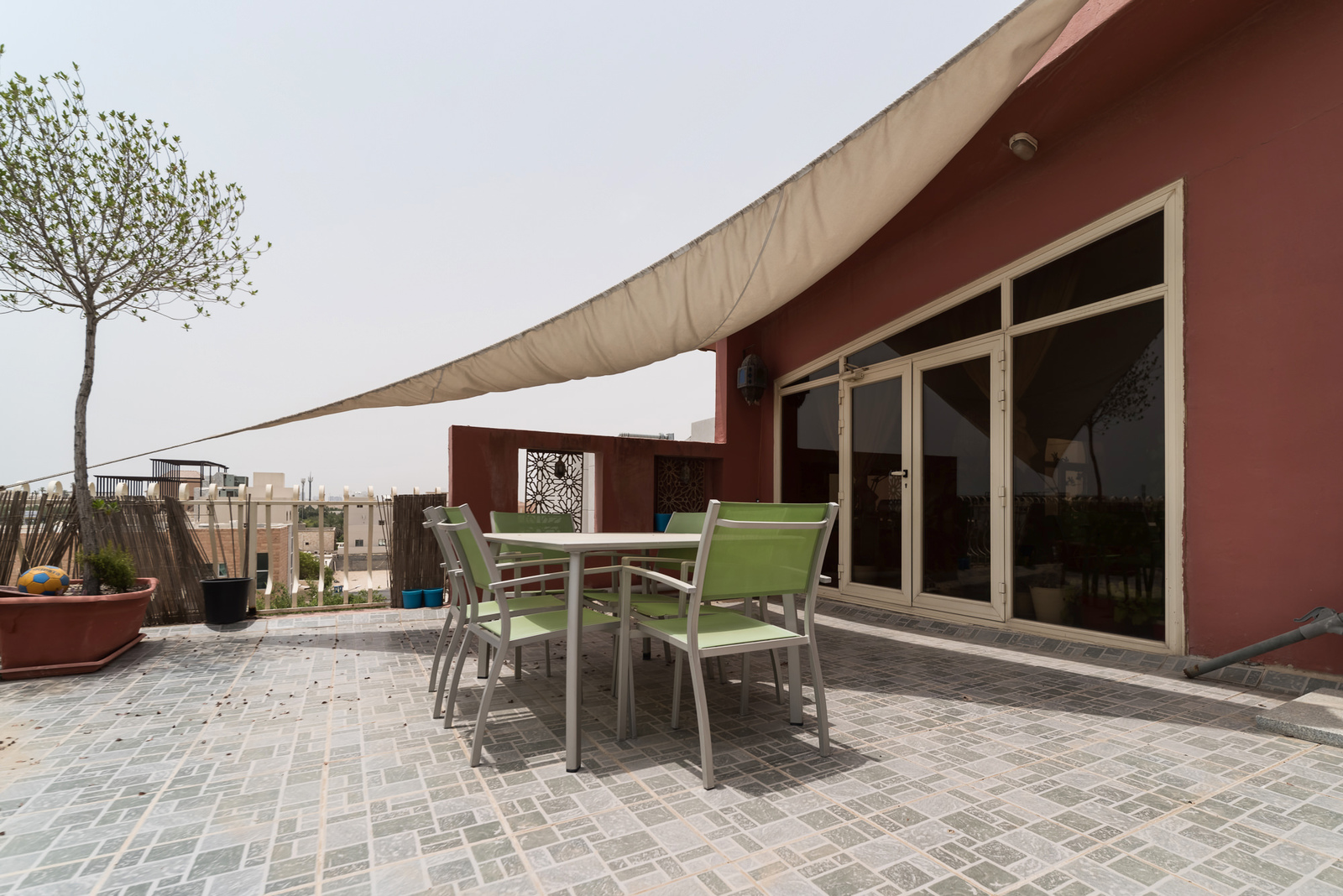 Rumathiya – great, unfurnished two bedrooms w/ large terrace