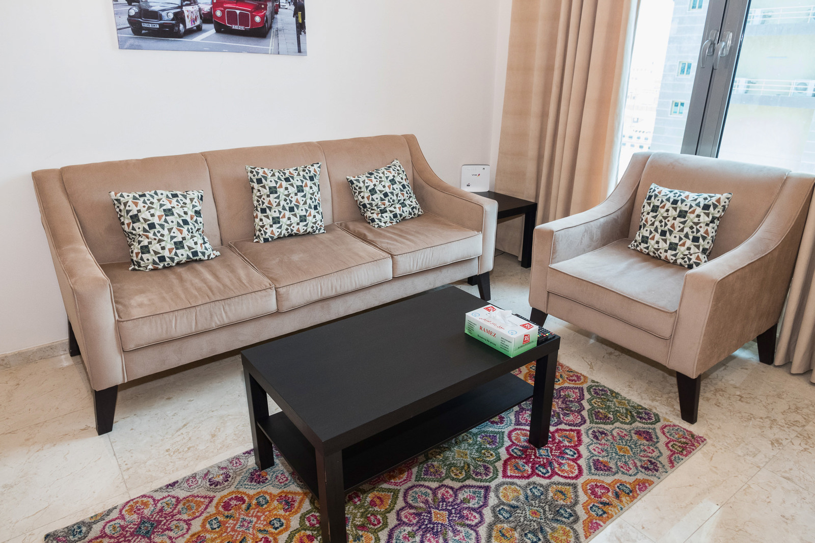 Sharq – small furnished and serviced one bedroom apartments w/pool