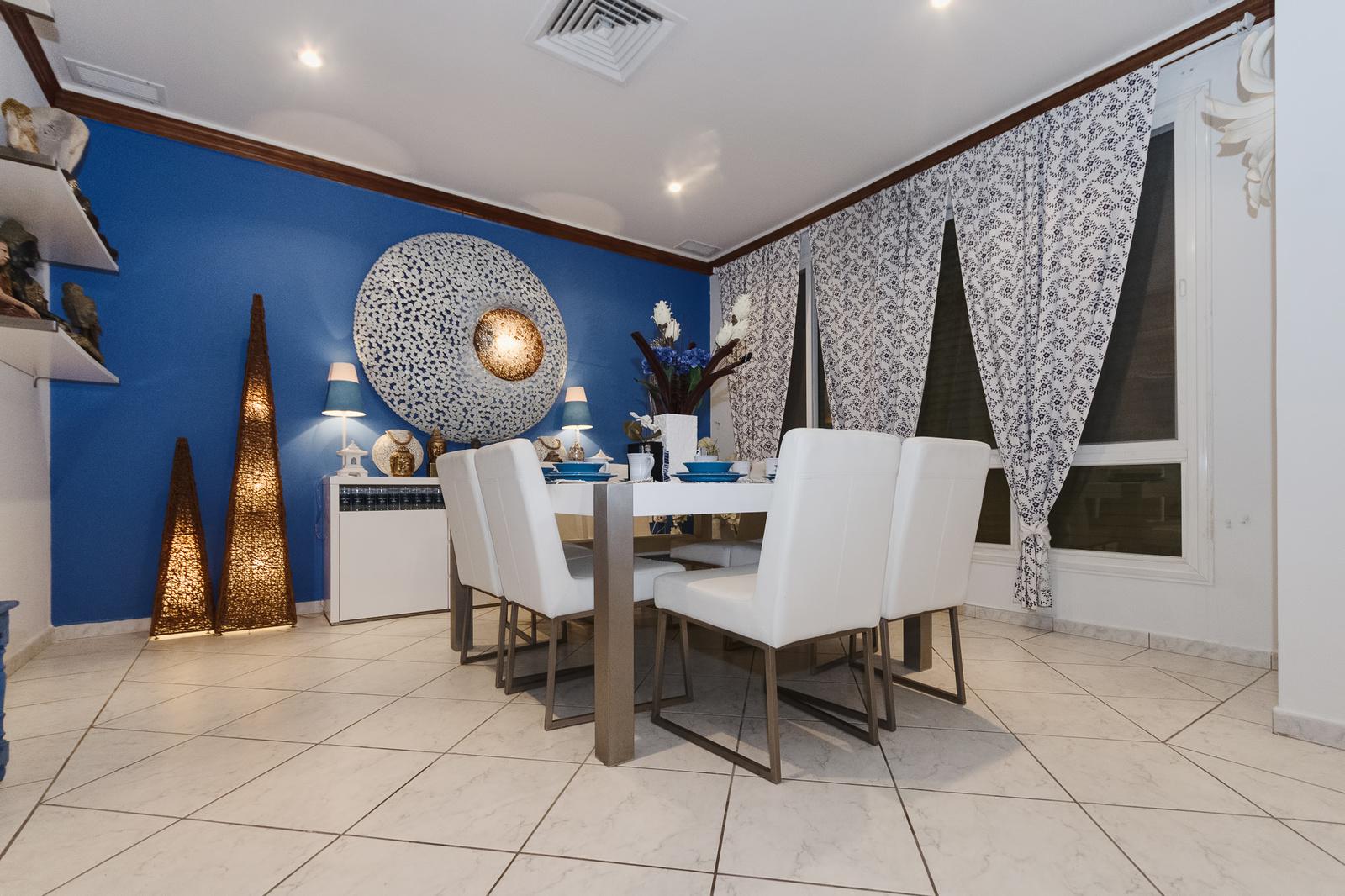 Fintas – great, tastefully furnished, 5 bedroom villa w/private yard