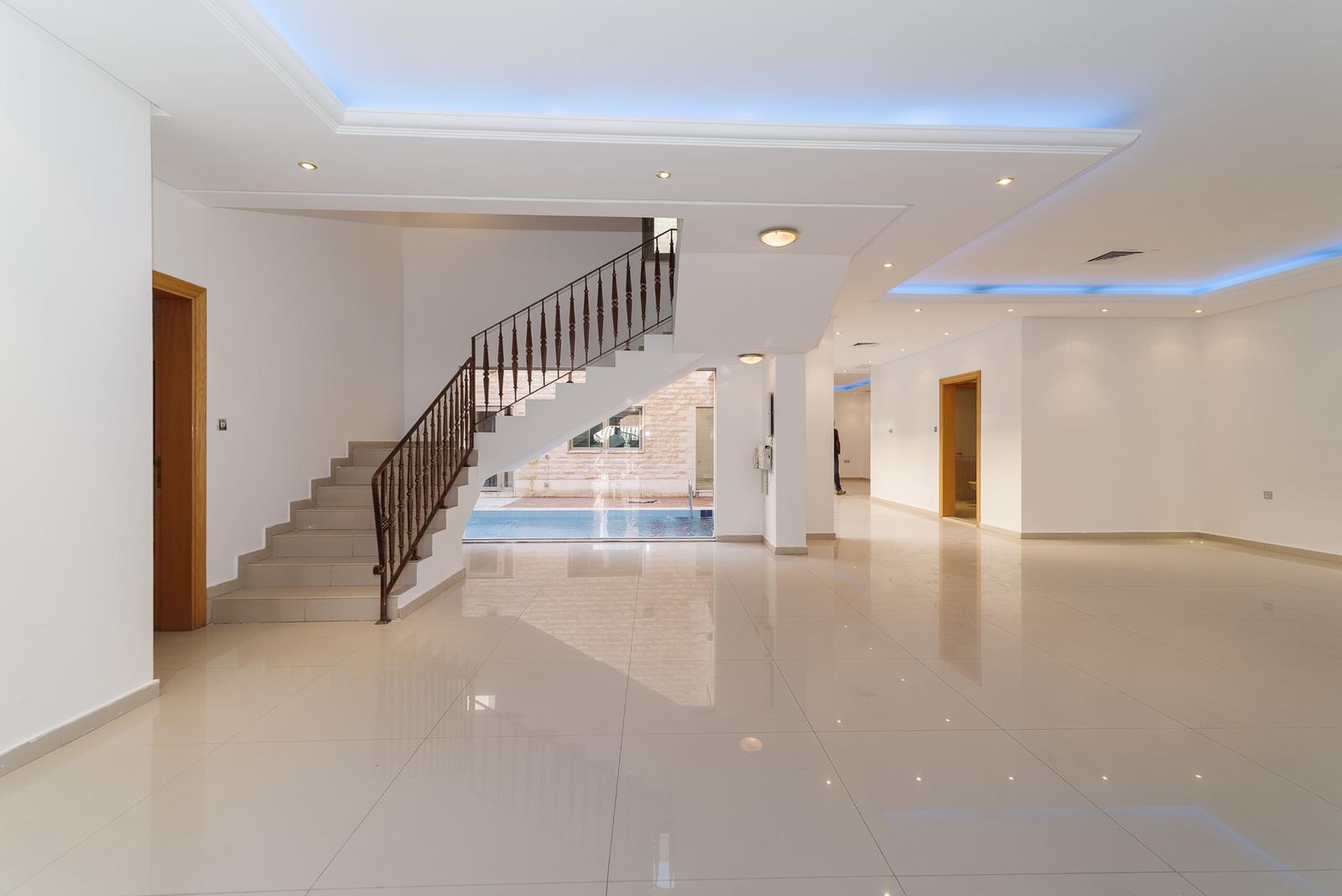 West Mishref – unfurnished, five bedroom villa w/pool