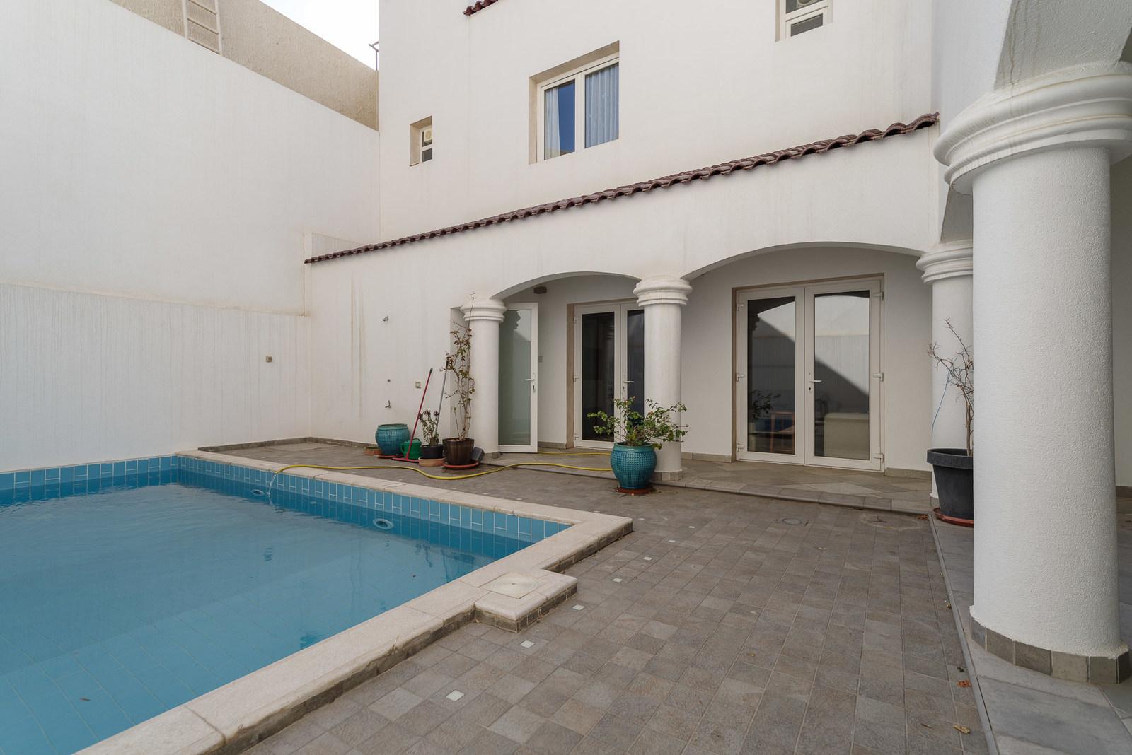 Salwa – beautiful, semi furnished, four bedroom villa w/pool