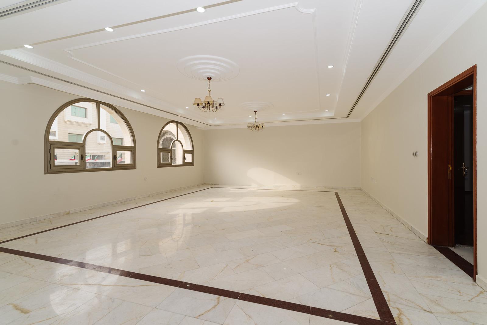 Jabriya – spacious, unfurnished, four floors corner villa