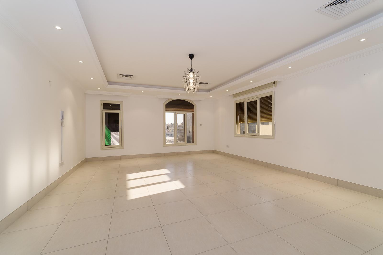 Abu Fatira – spacious, unfurnished, three bedroom apartment