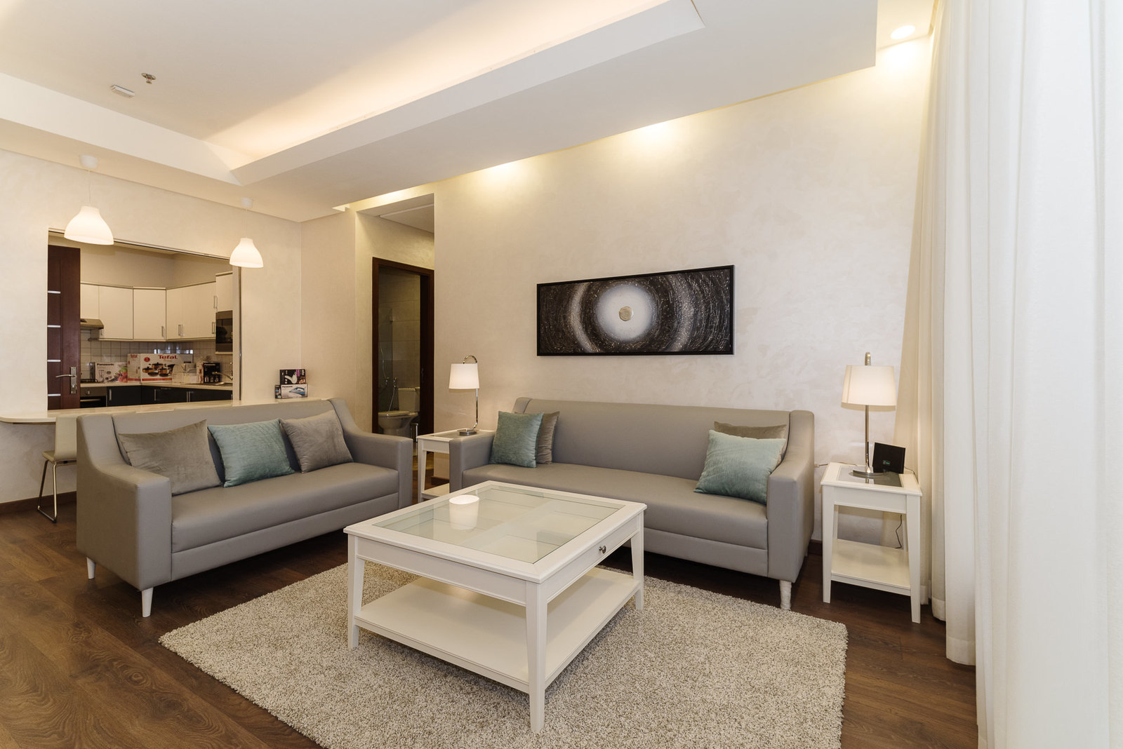 Salmiya – elegant, fully furnished one and two bedroom apartments w/facilities