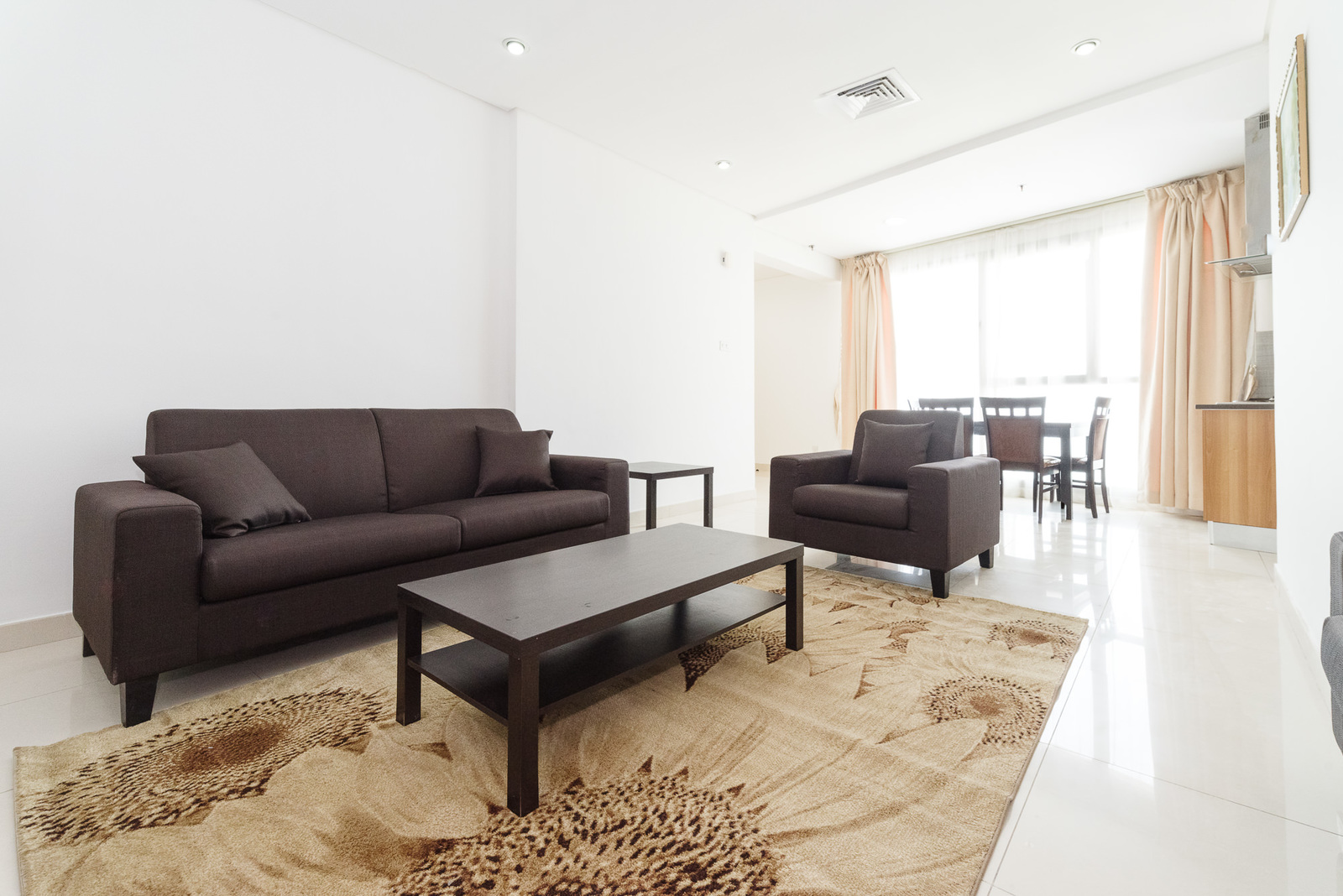 Fintas – furnished, two bedrooms apartment w/facilities
