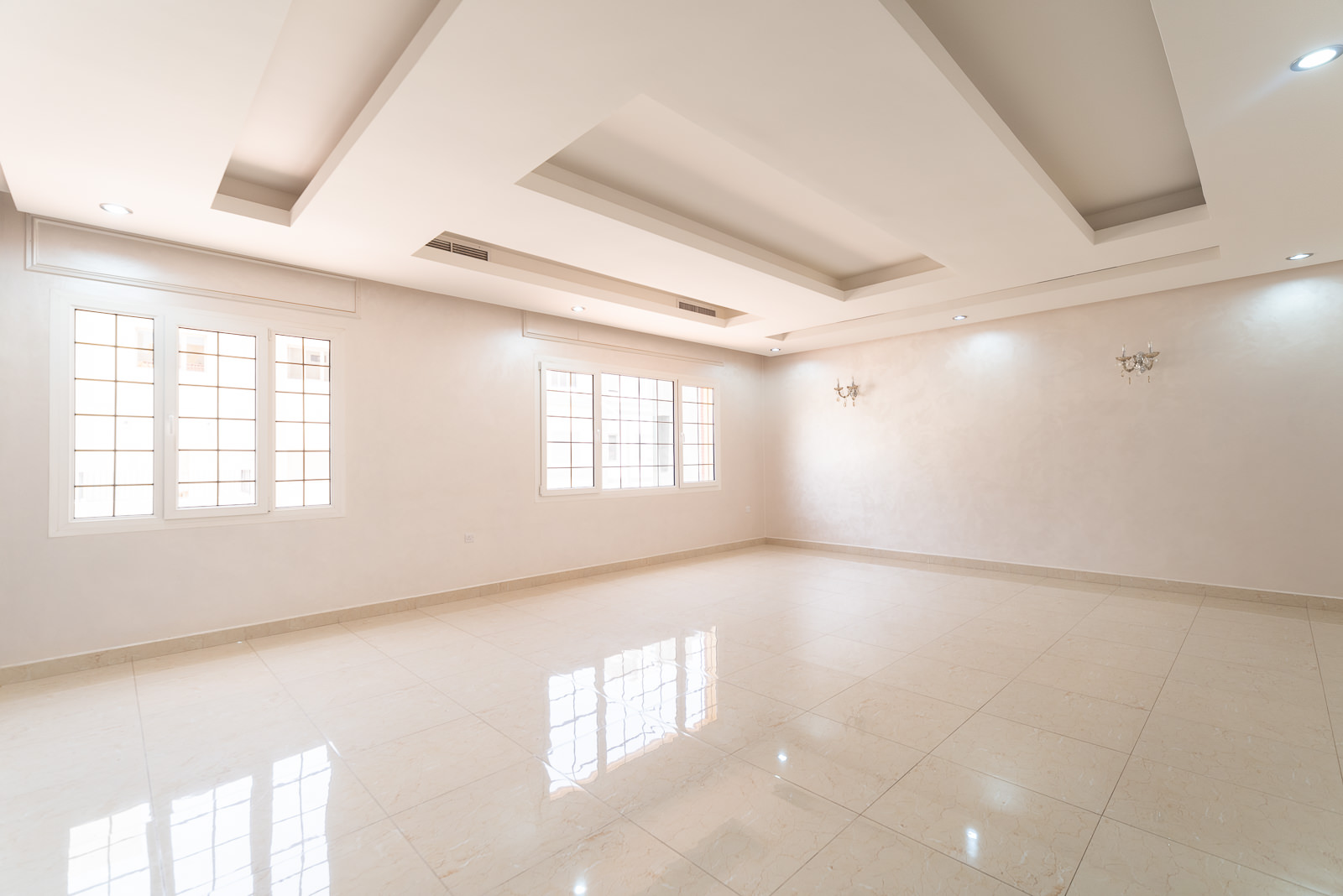 Abu Faitra – very spacious, unfurnished, four bedroom floor