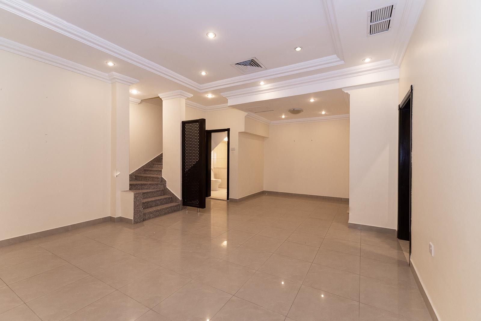 Salwa – great, semi furnished, four bedroom duplex w/small yard.