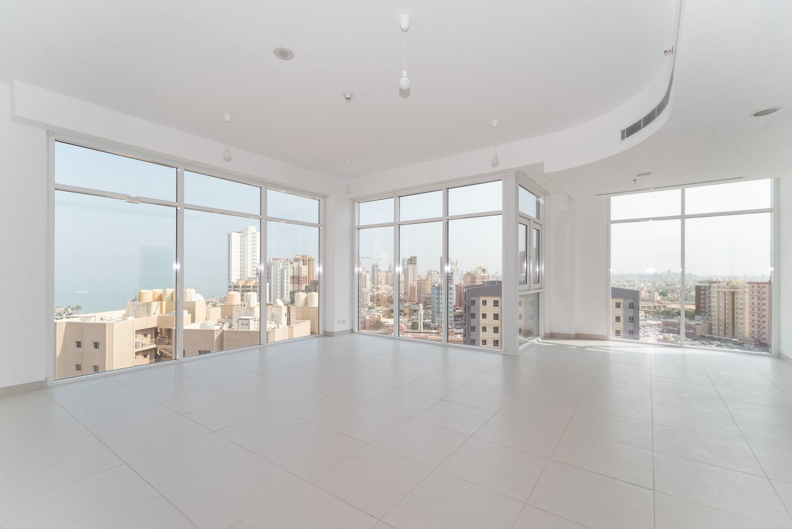 Bneid Al Gar – unfurnished, three bedroom apartments w/facilities