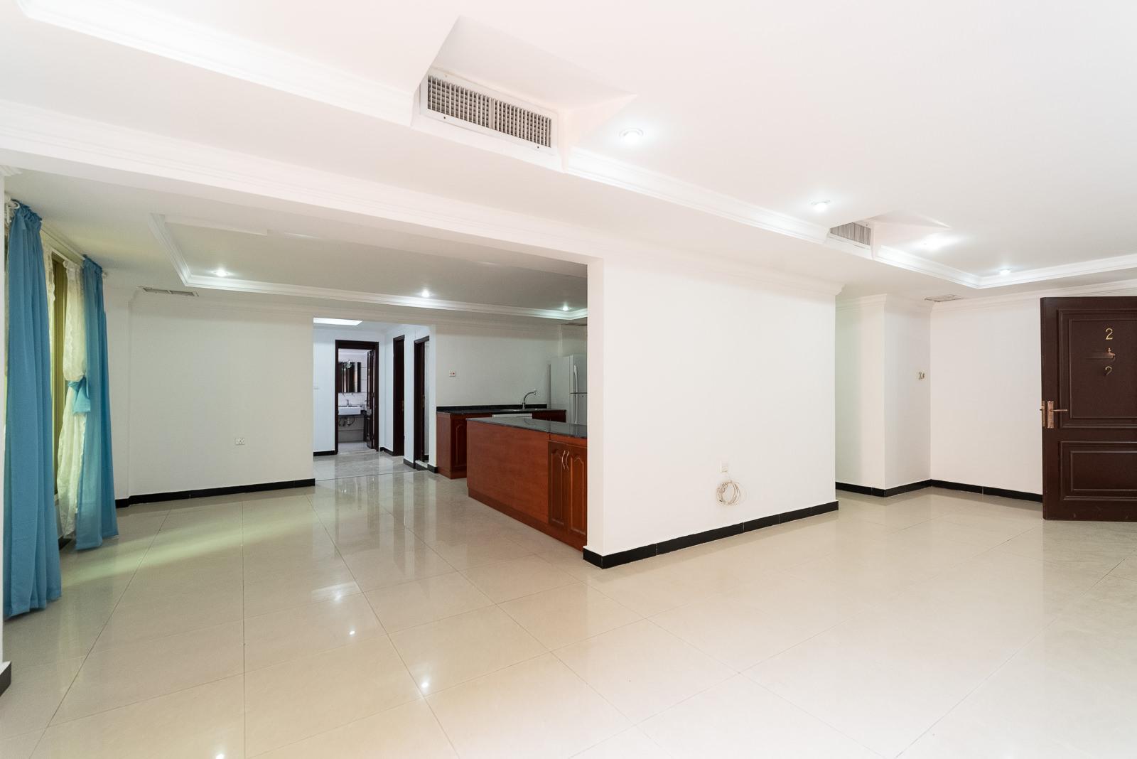 Salwa – unfurnished, three bedroom basement apartment w/private yard