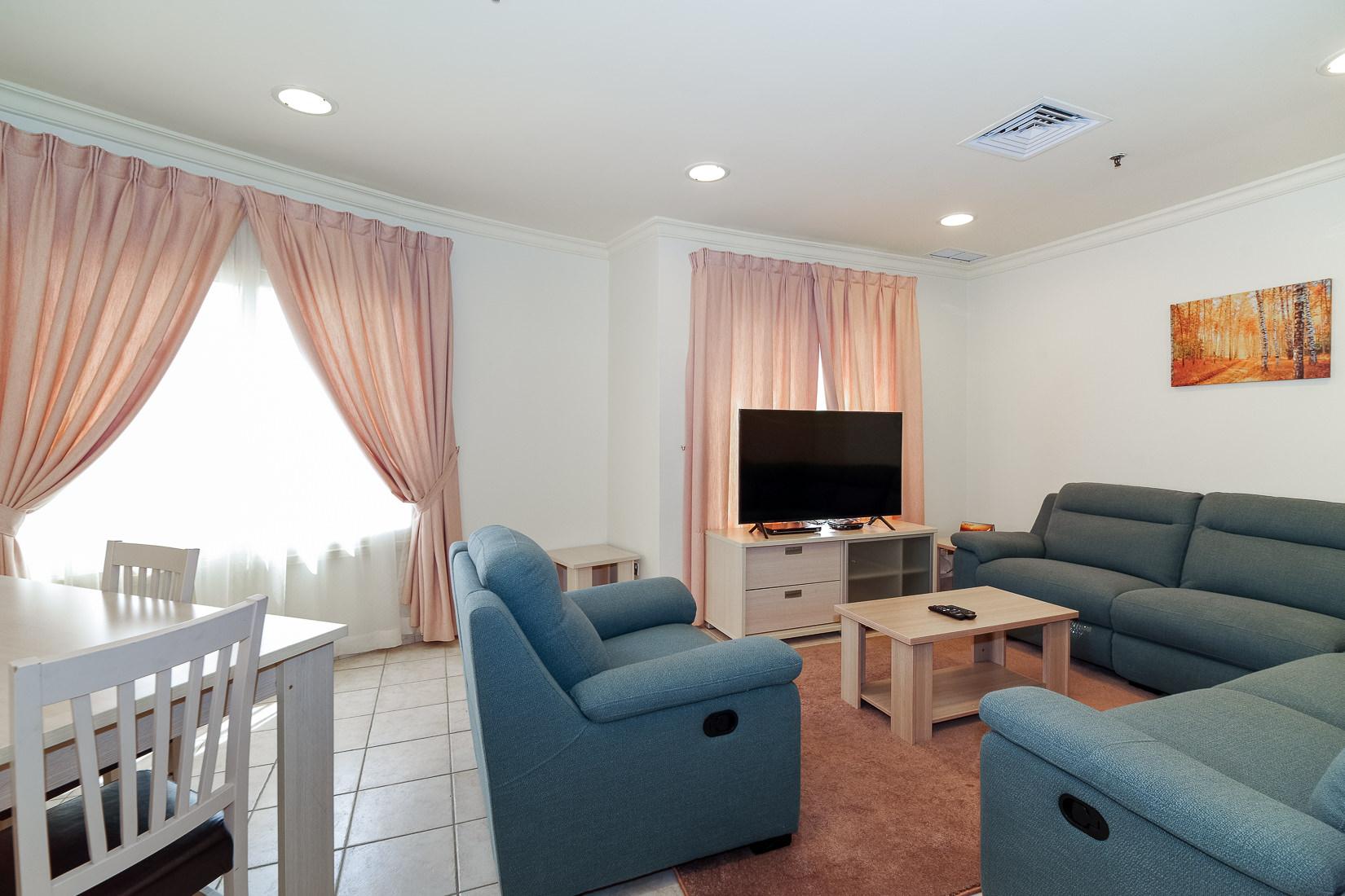 Salmiya – furnished, two bedroom apartments w/pool