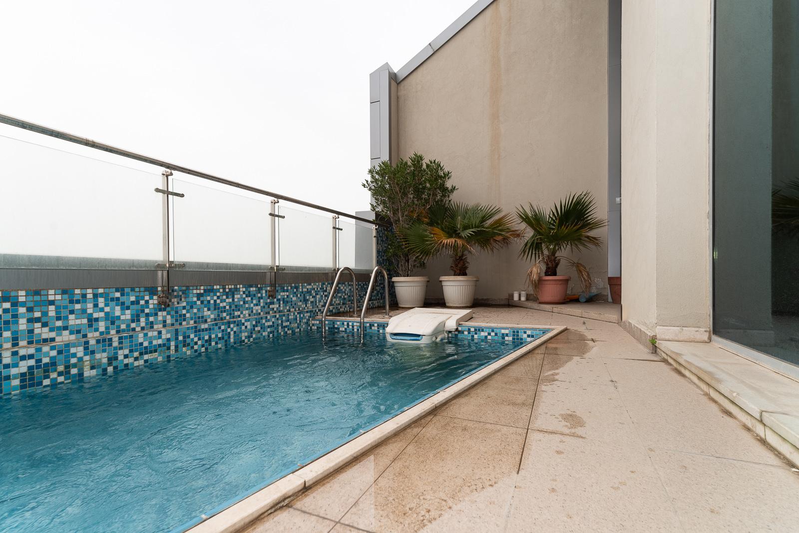Maidan Hawally – two bedroom, top floor duplex w/private pool