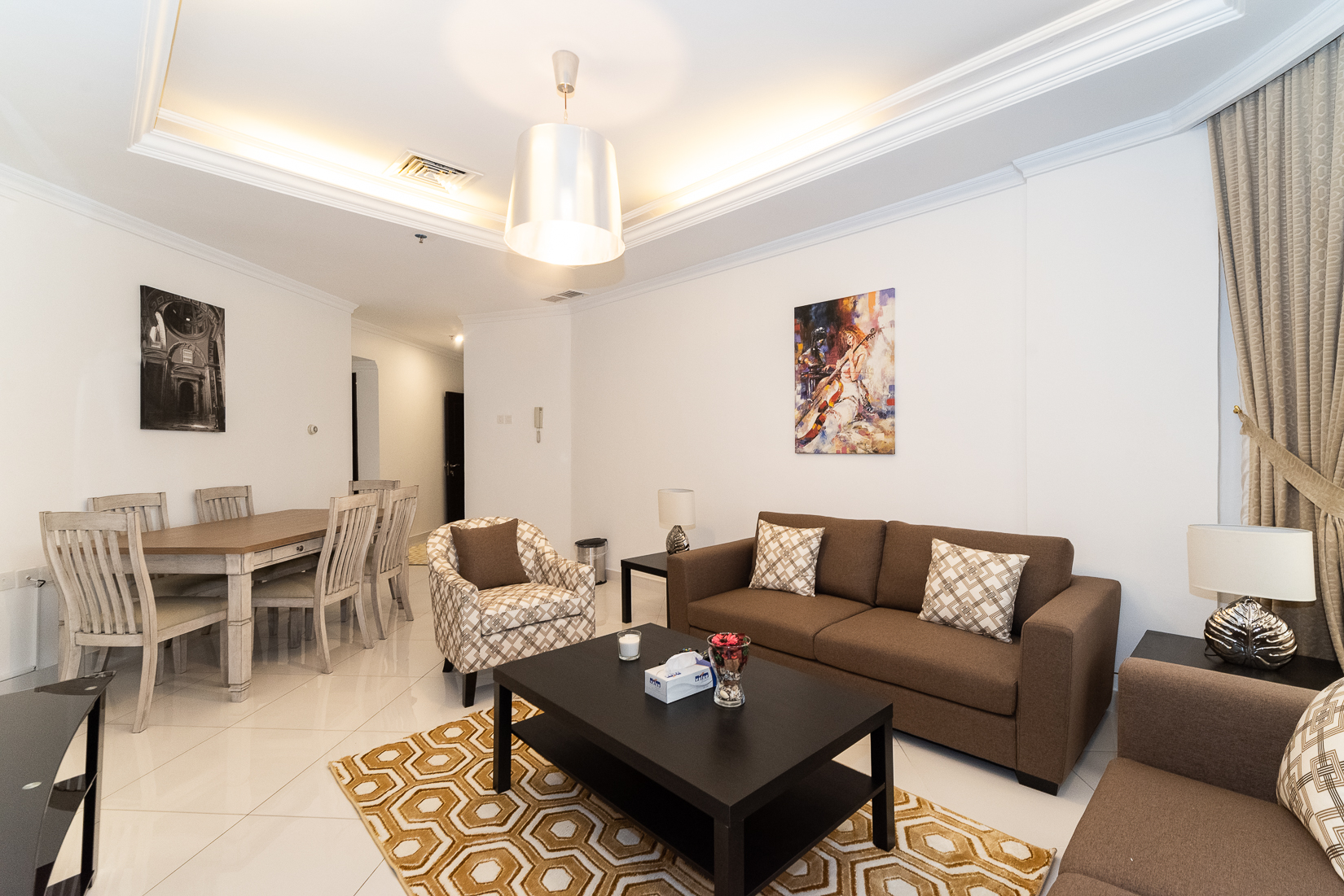 Mangaf – furnished, two bedroom apartment w/sea view