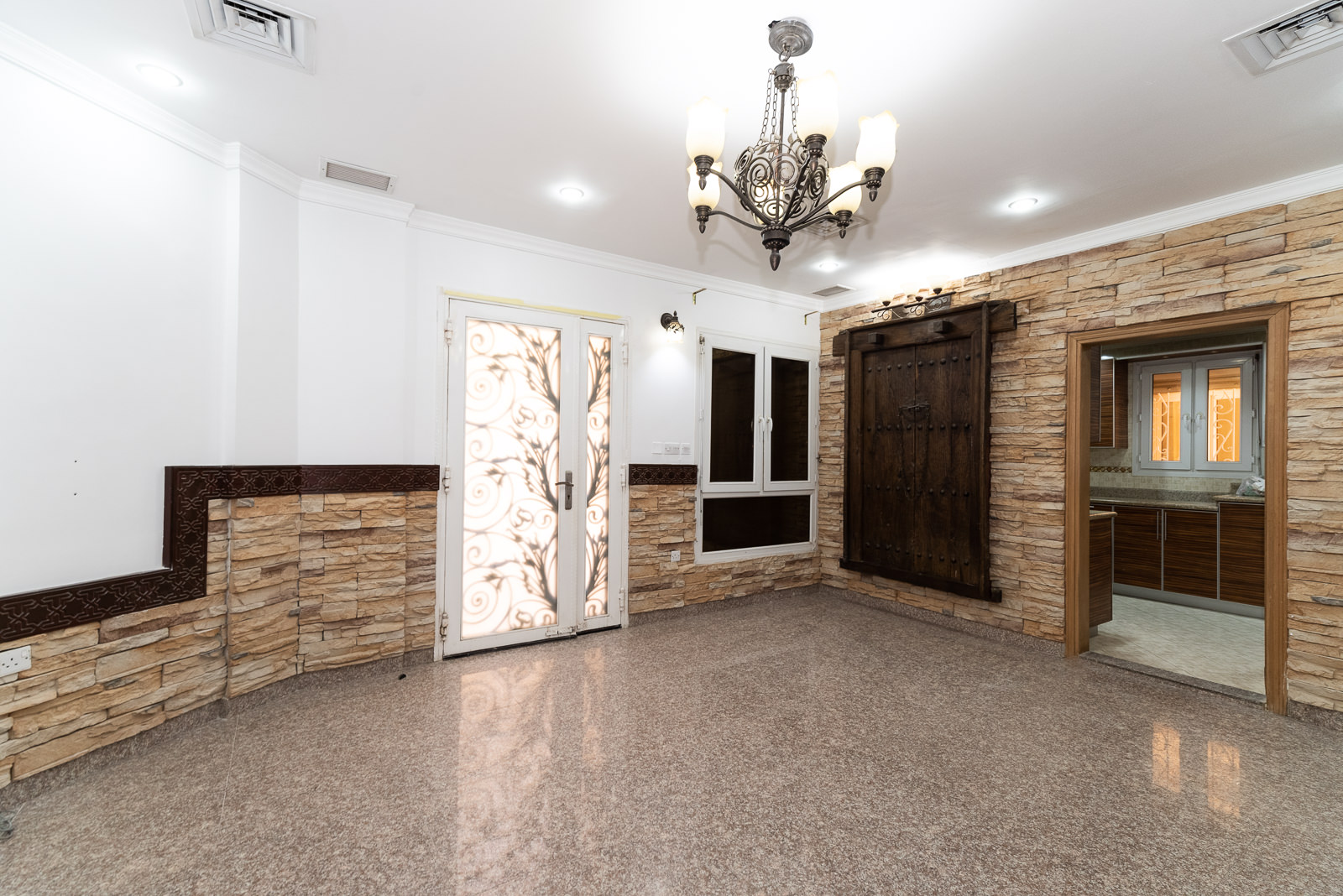 Salwa – semi furnished, three bedroom triplex