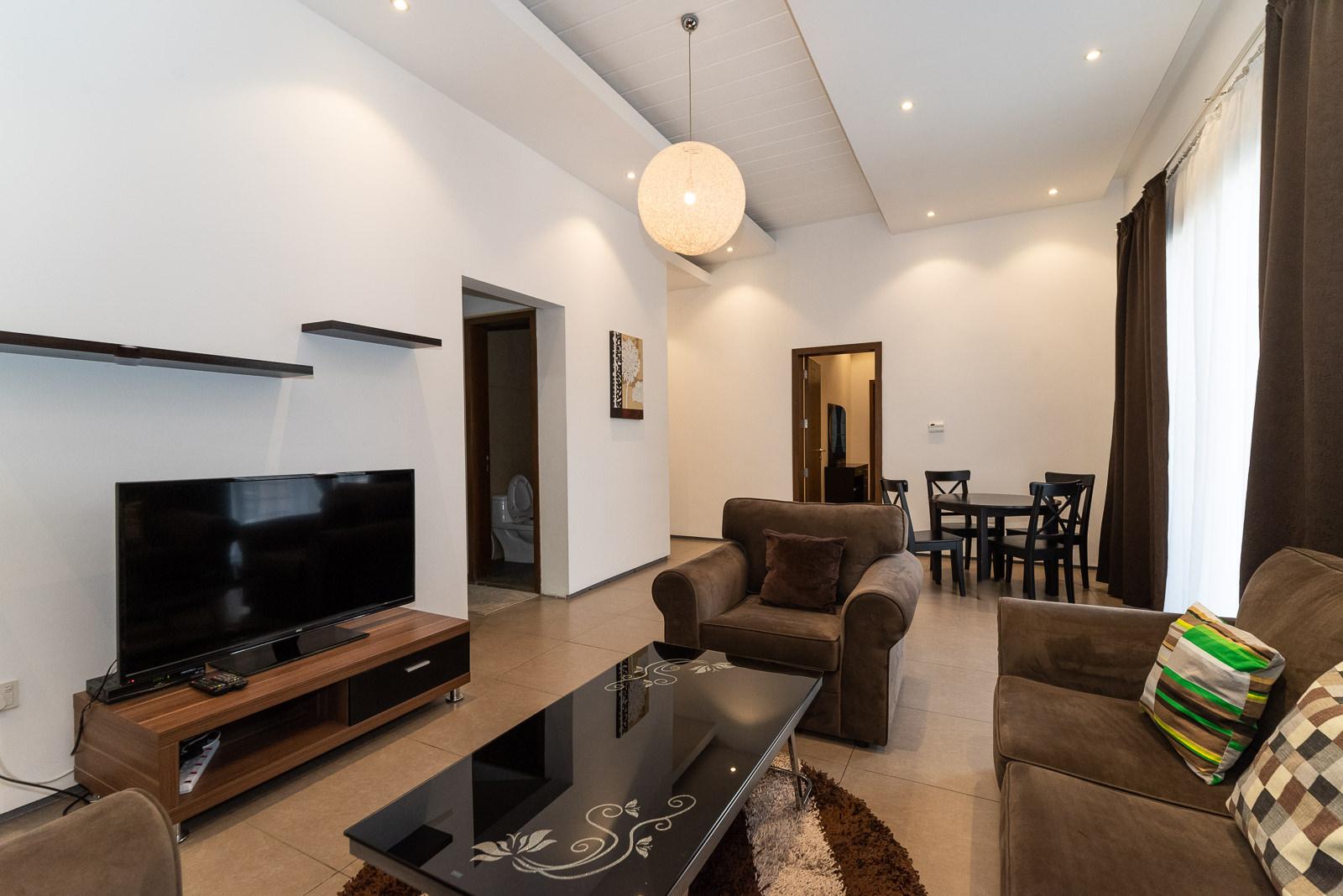 Salwa – spacious, furnished one bedroom apartment w/pool
