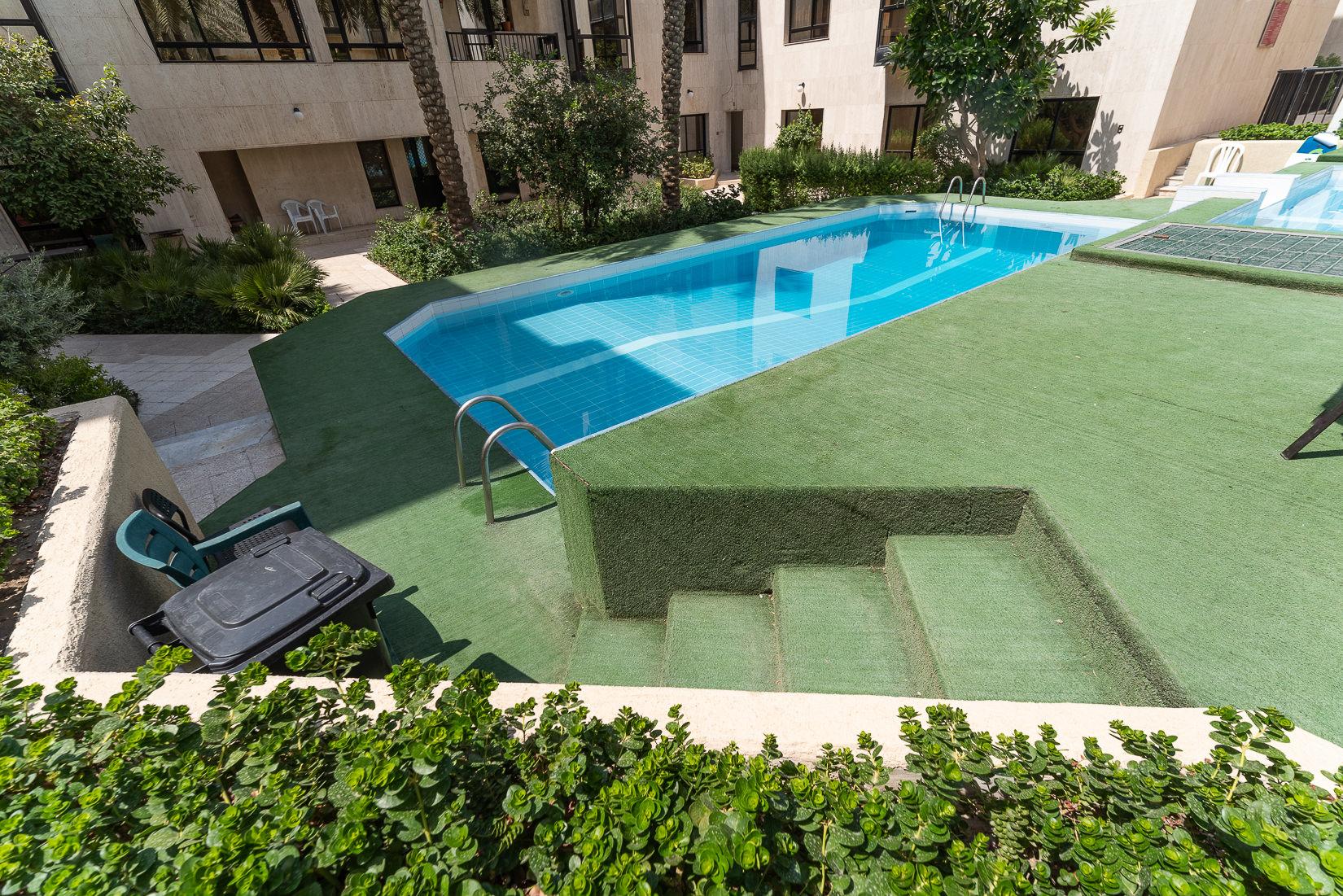 Jabriya – older, unfurnished, two bedroom apartment w/terrace