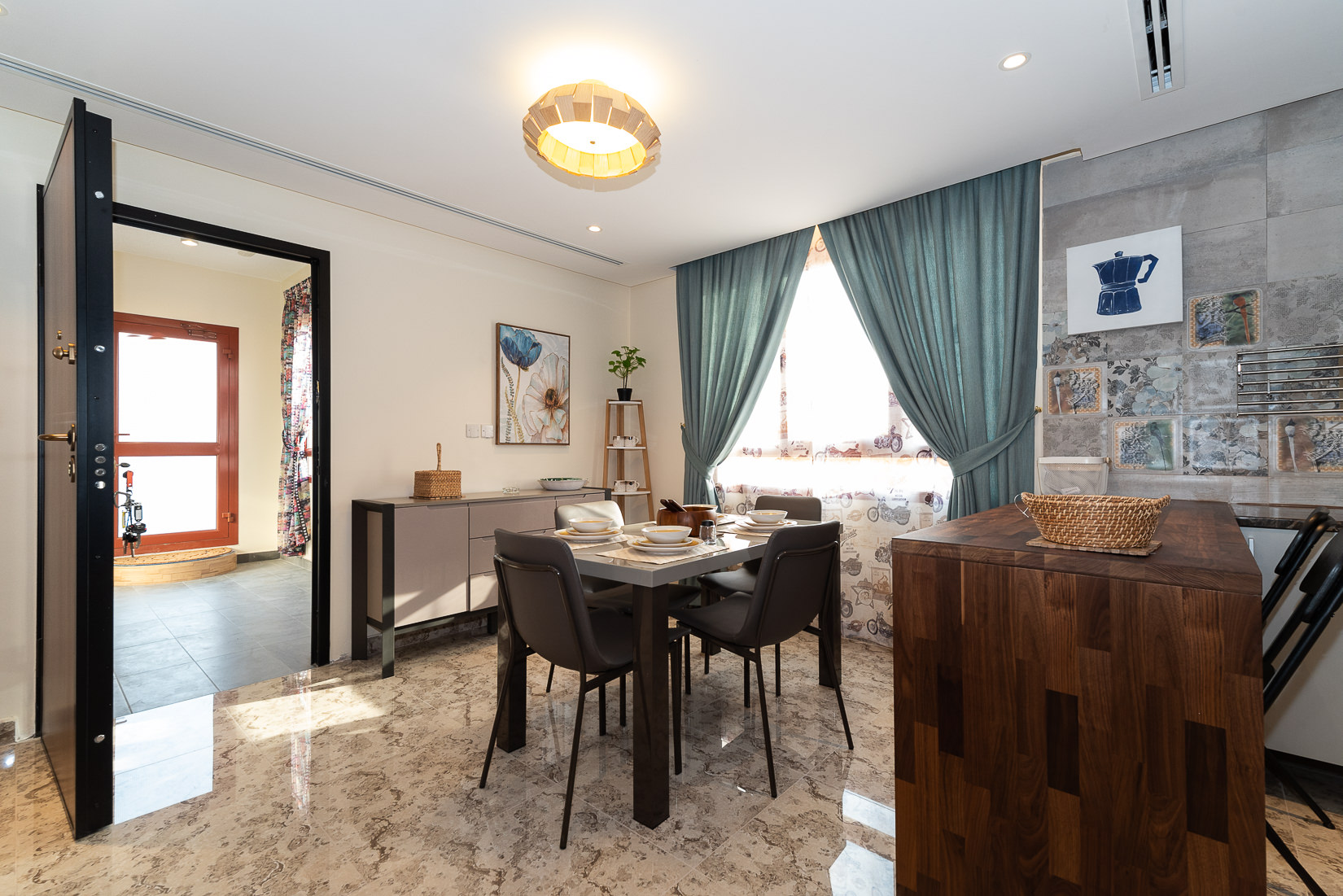 Surra – new, furnished, two bedroom apartment w/pool