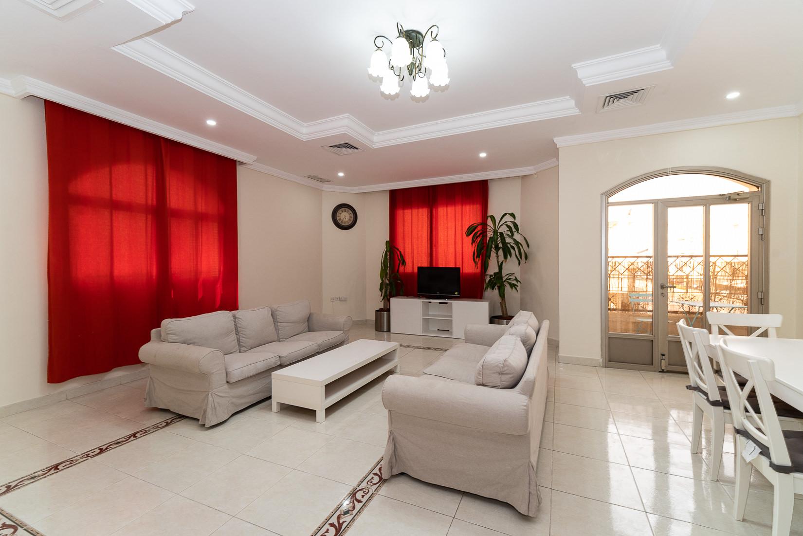 Mangaf – older, spacious, semi furnished floor