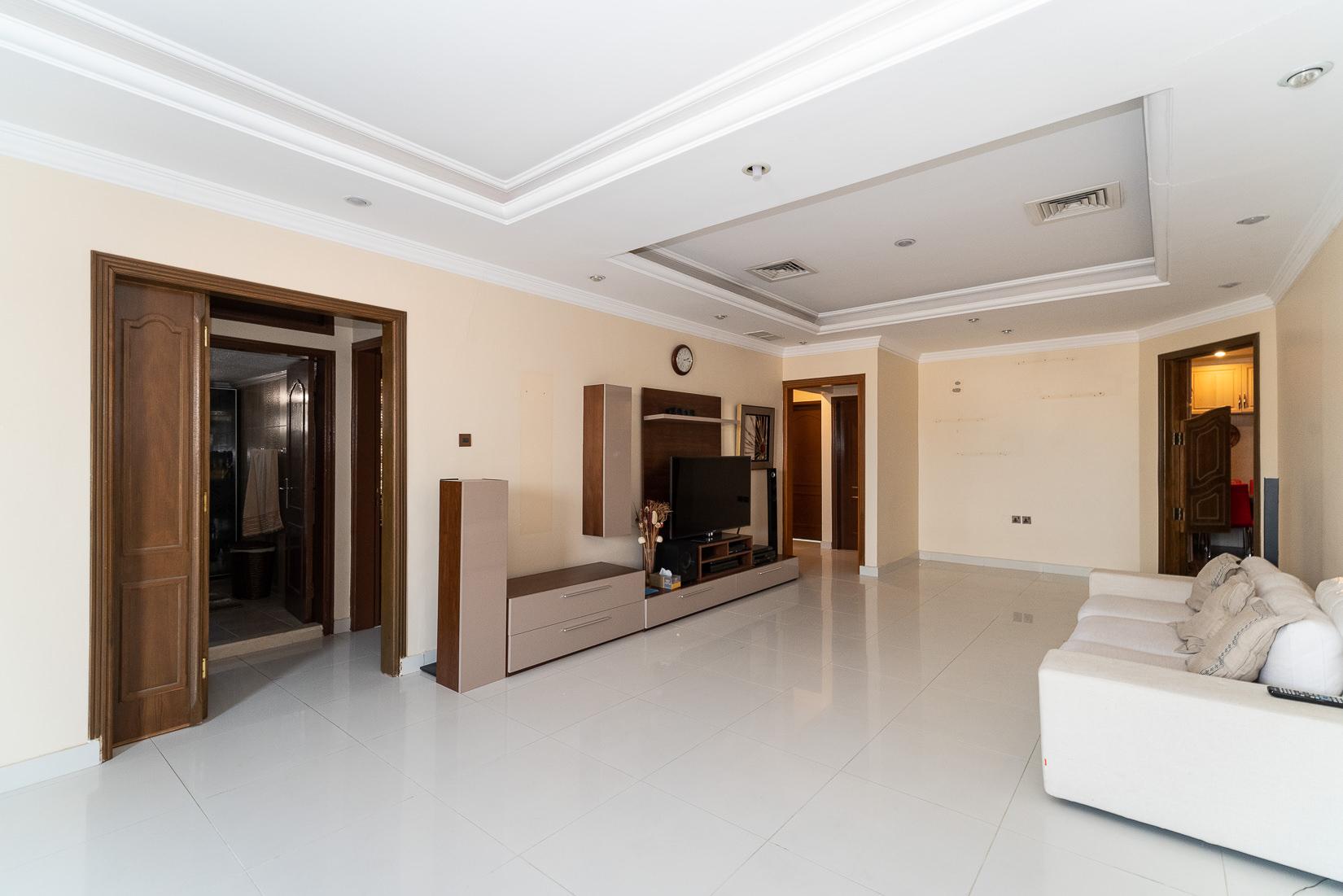 Rumaithiya – unfurnished, three bedroom apartment w/terrace