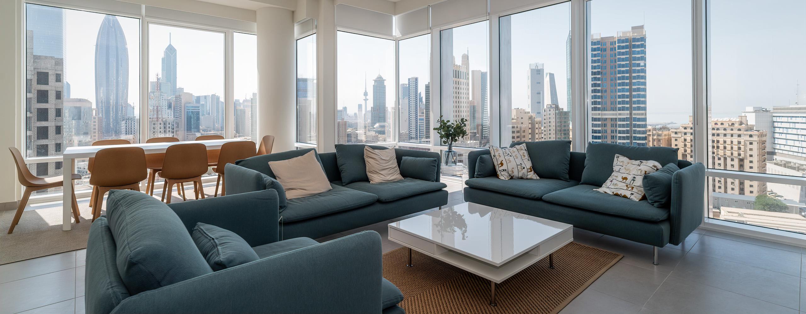 Dasman – new, elegant two and three bedroom apartments w/sea view