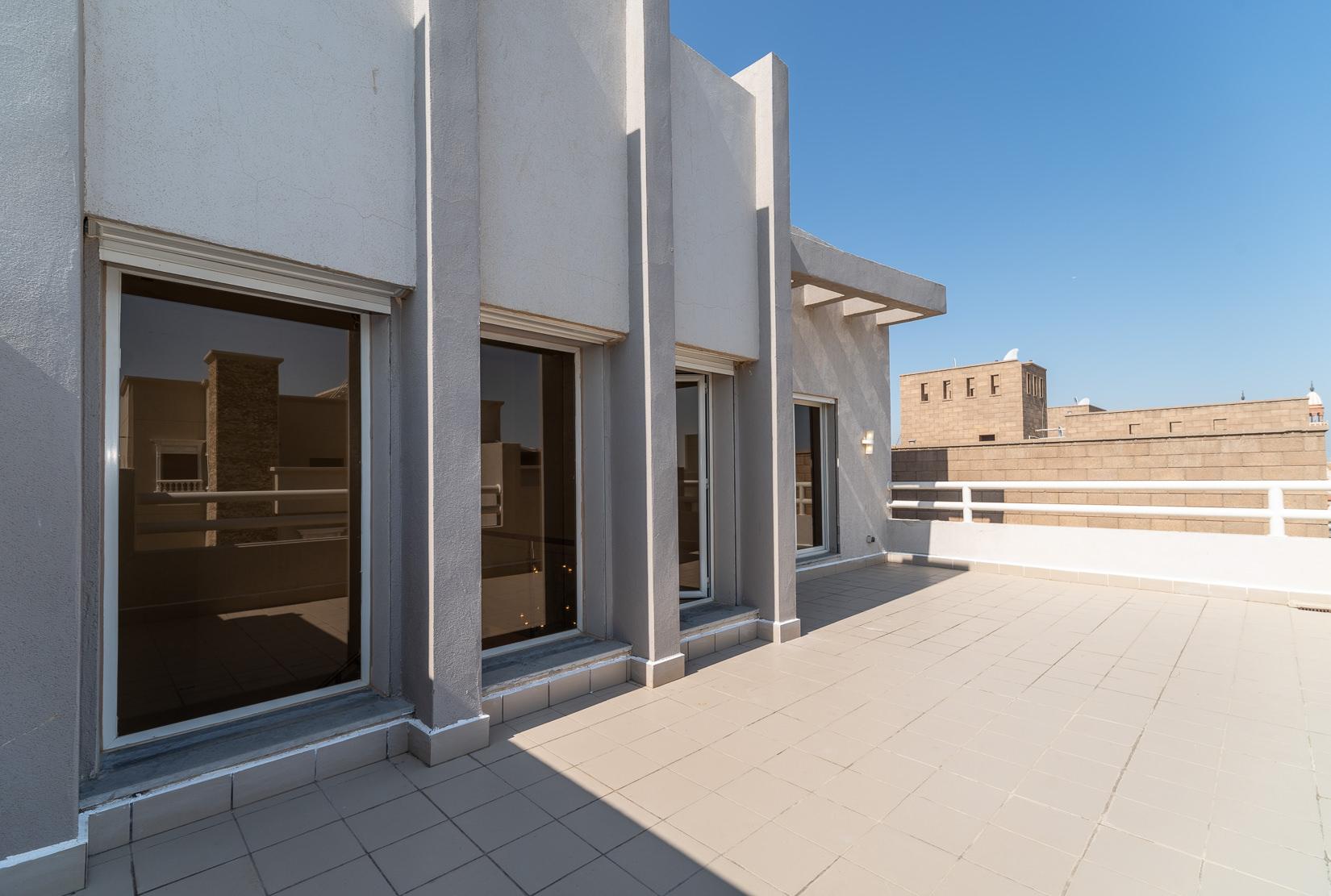 Salam – lovely, ufnurnished, three bedroom duplex w/terrace