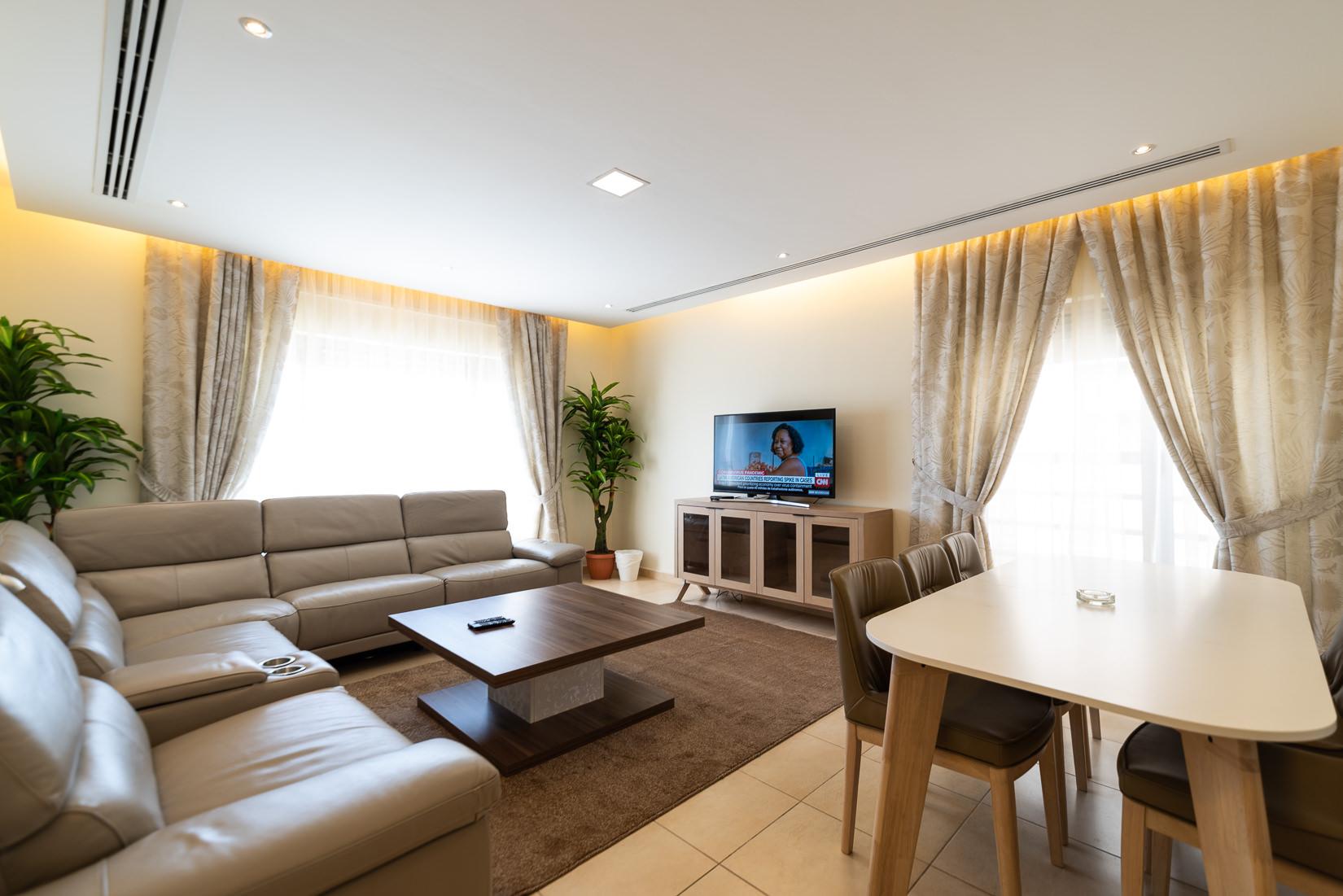 Bayan – bright, spacious, three bedroom apartment w/pool