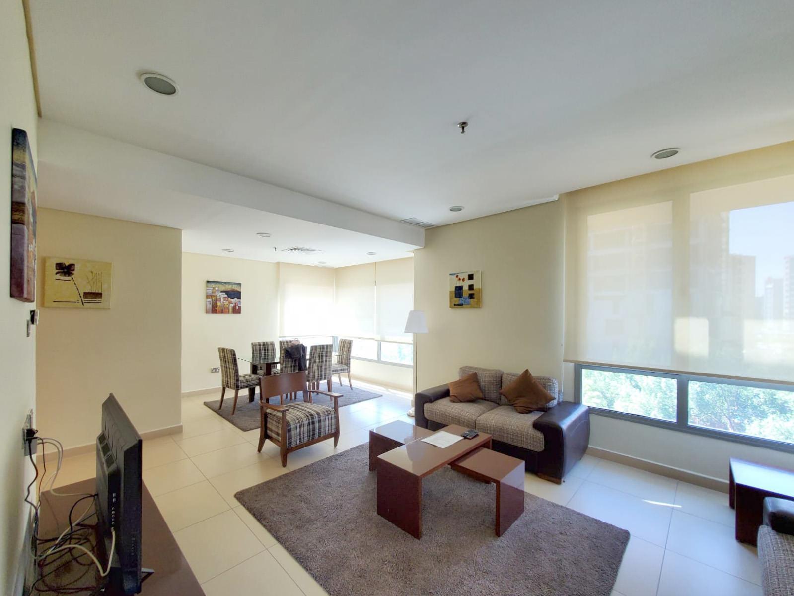 Salmiya – fully furnished two bedroom apartment w/pool