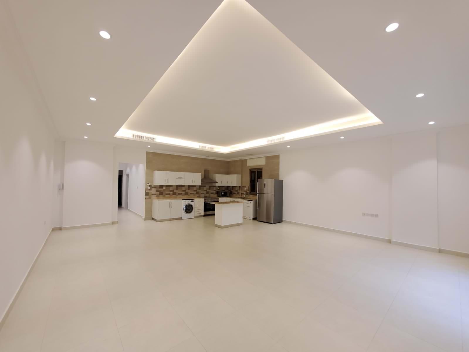 Rumaithiya – new, unfurnished three bedroom apartments w/pool