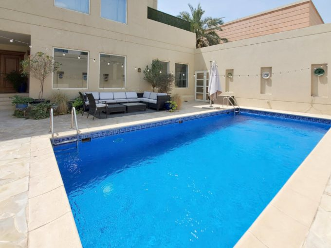 Mishref – lovely, six bedrooms unfurnished villa w/private pool