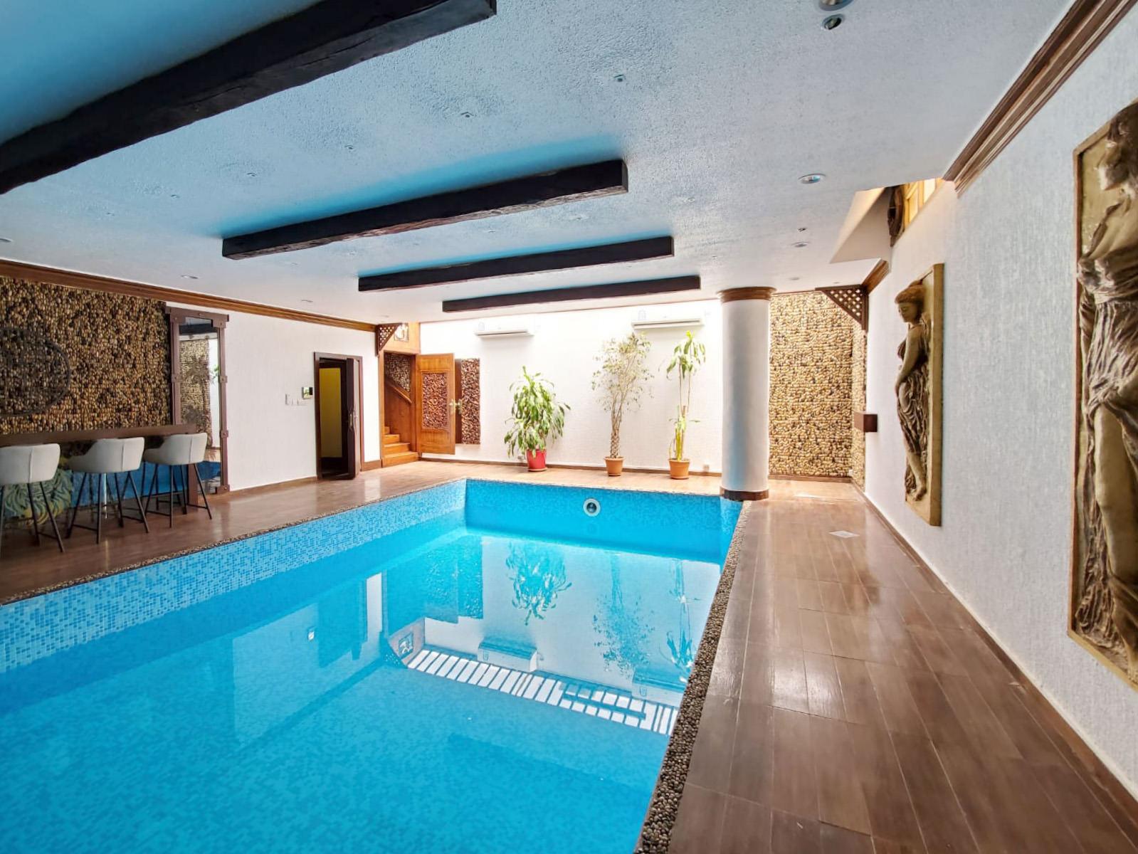 Salwa – unfurnished basement floor w/private pool