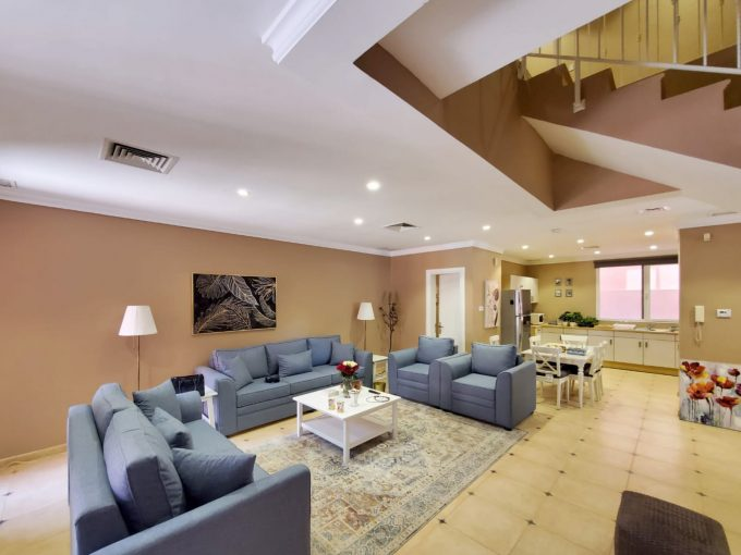 Abu Al Hasania – furnished and unfurnished three bedroom villas