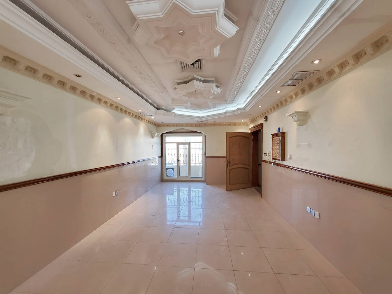 Rumaithiya – unfurnished, three bedroom apartment w/balcony