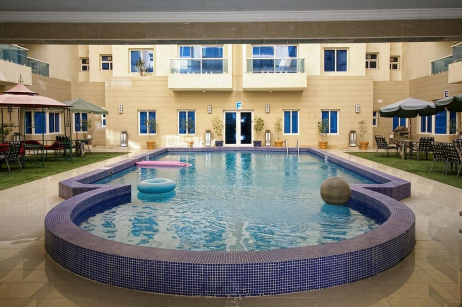 Mangaf – furnished, two bedroom duplex w/pool