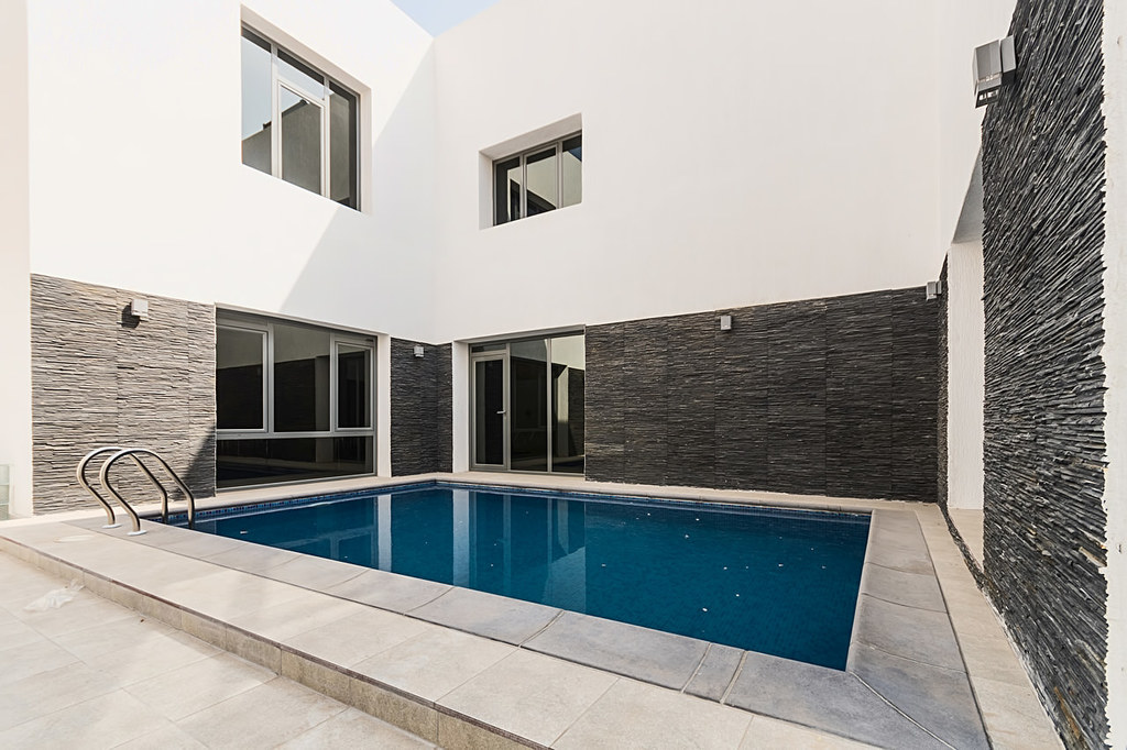 Salwa – modern, unfurnished, four bedroom villa w/pool