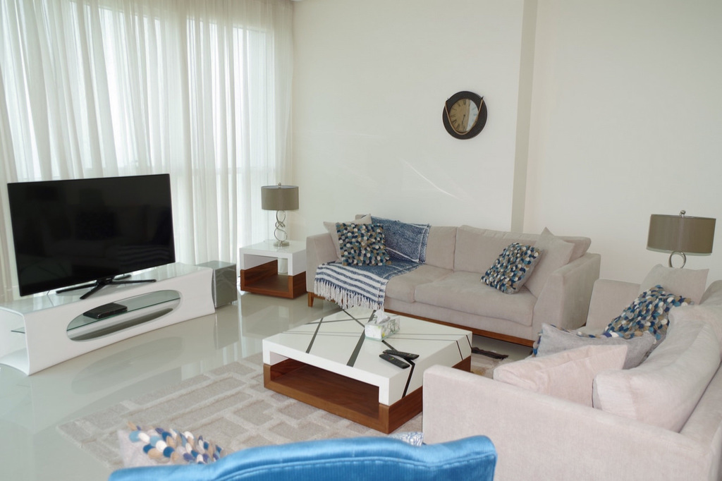 Shaab – furnished, three master bedroom apartments w/sea view