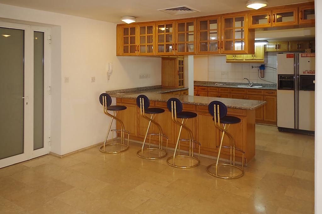 Salwa – spacious, unfurnished two bedroom light basement apartment w/yard