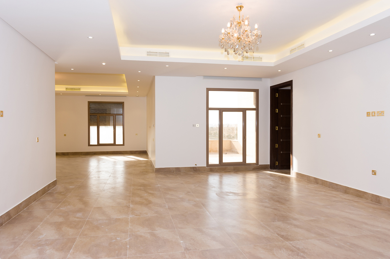 Zahra – great, unfurnished four master bedroom floors