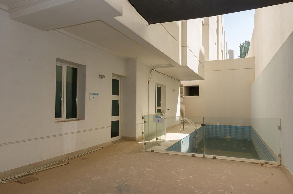 Sadiq – unfurnished, four bedroom duplex w/yard and swimming pool