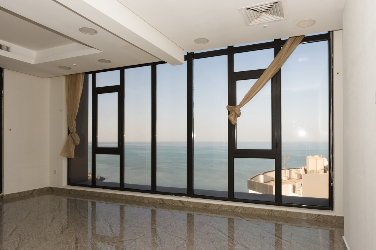 Shaab – unfurnished, three bedroom sea view apartments
