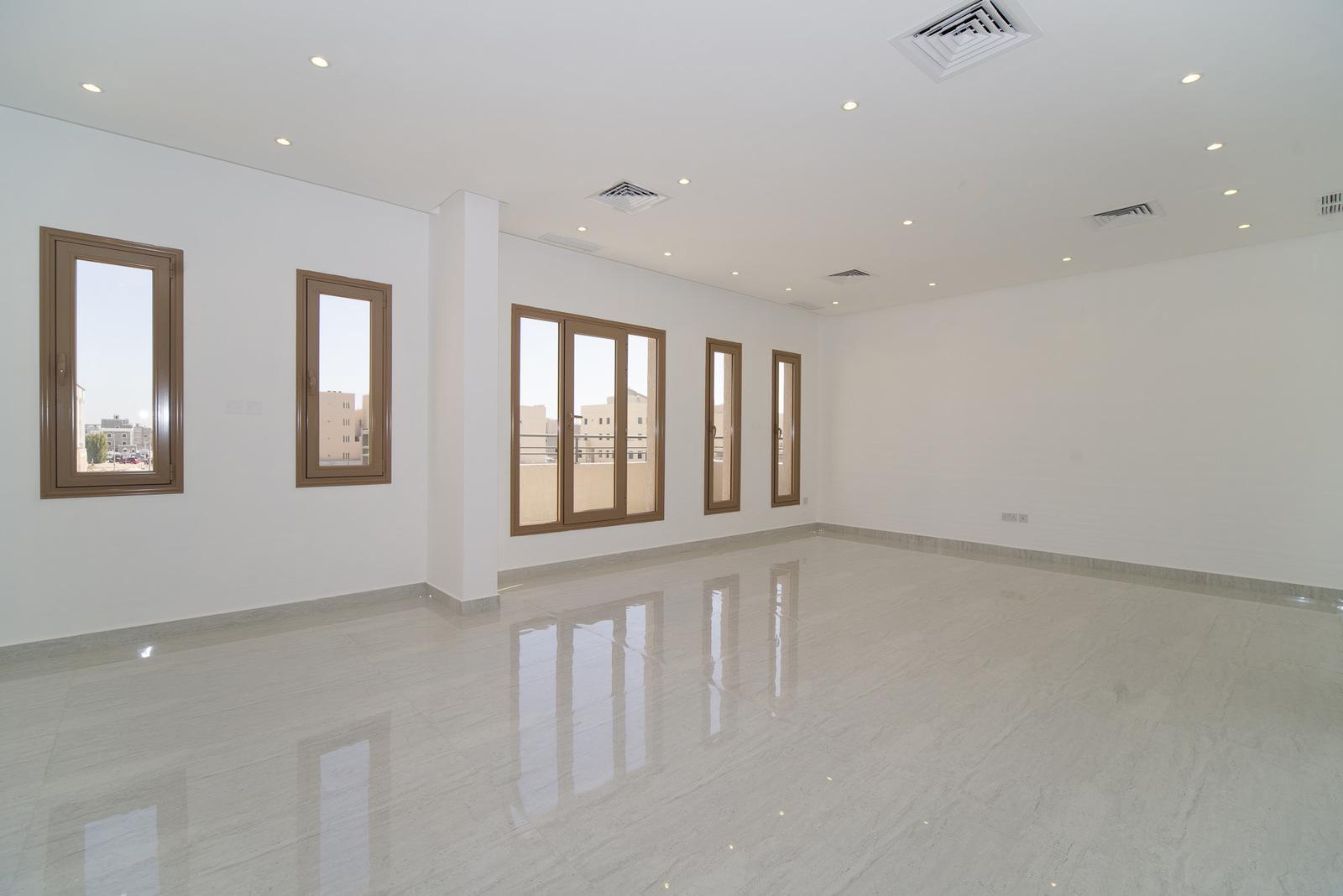 Funaitees – very nice, unfurnished, four bedroom floors w/balconies