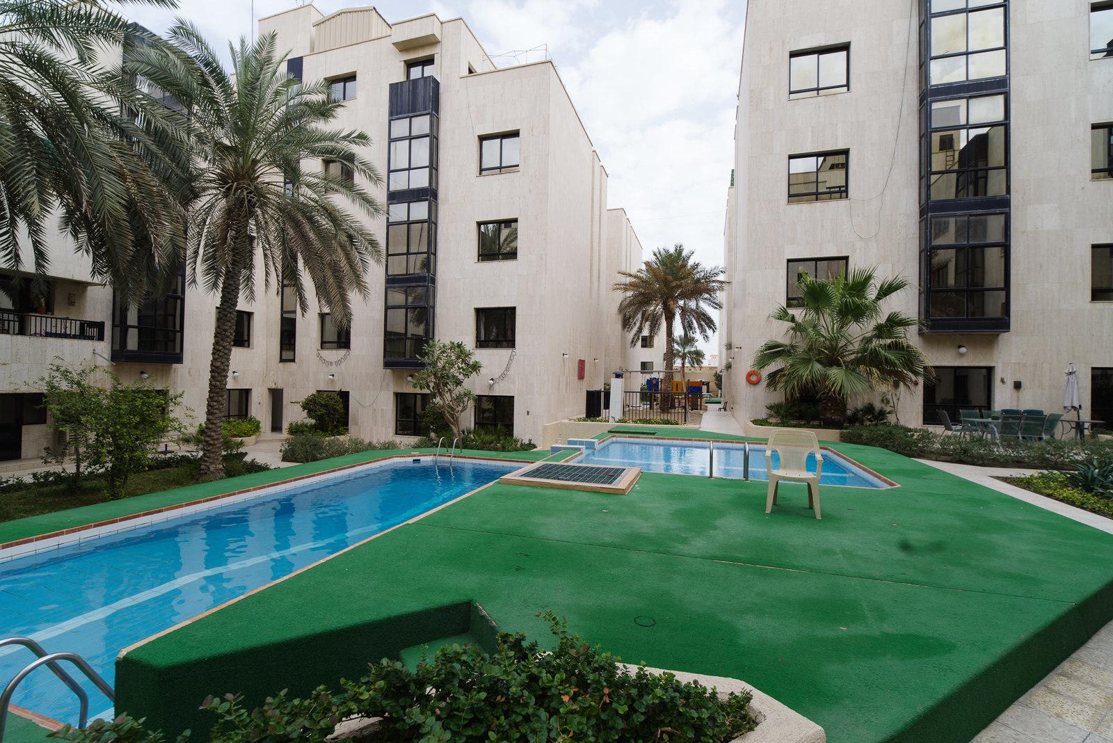 Jabriya – spacious, five bedroom compound apartment w/facilities