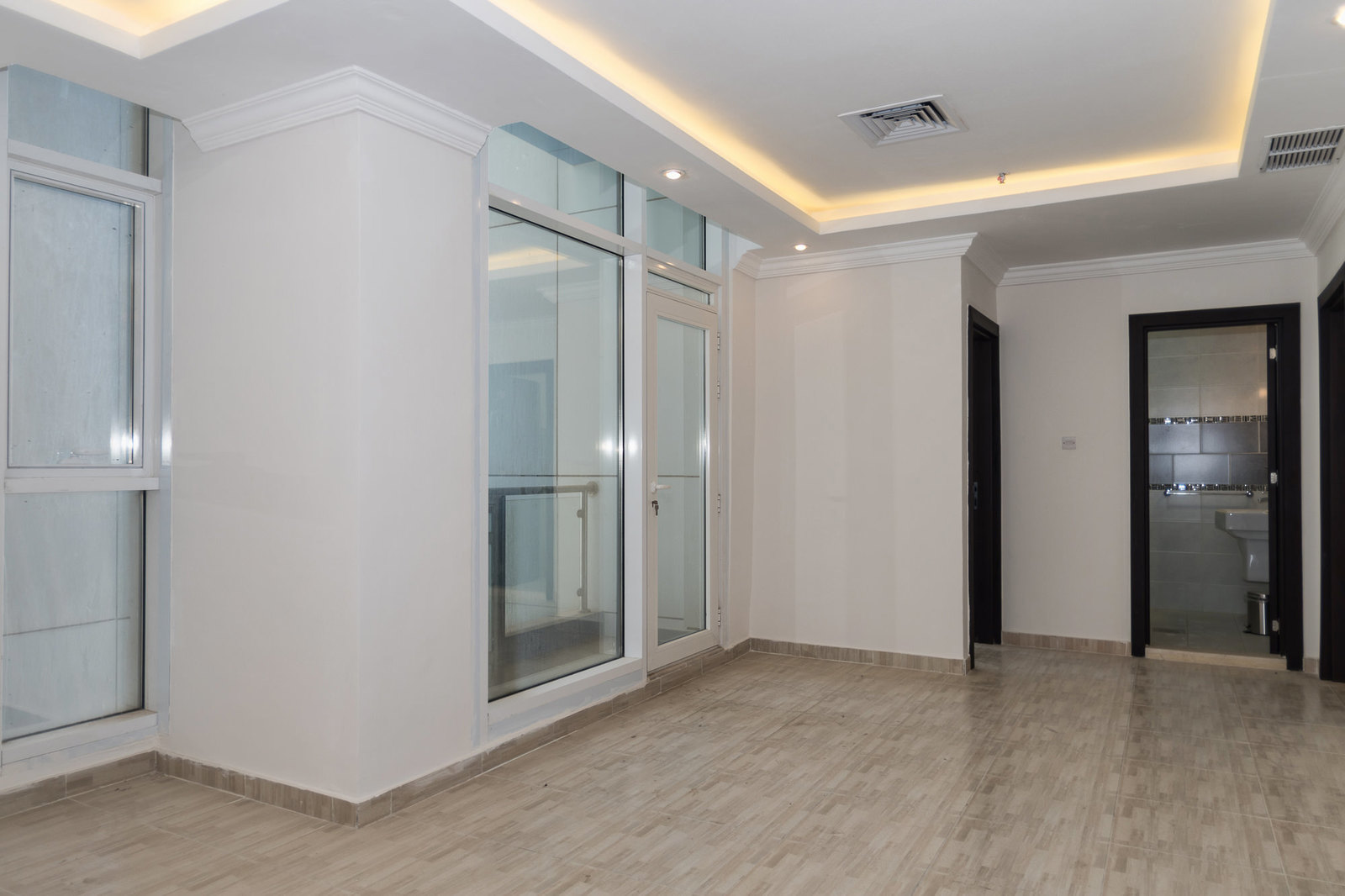 Salmiya – unfurnished, two bedroom apartment w/sea view