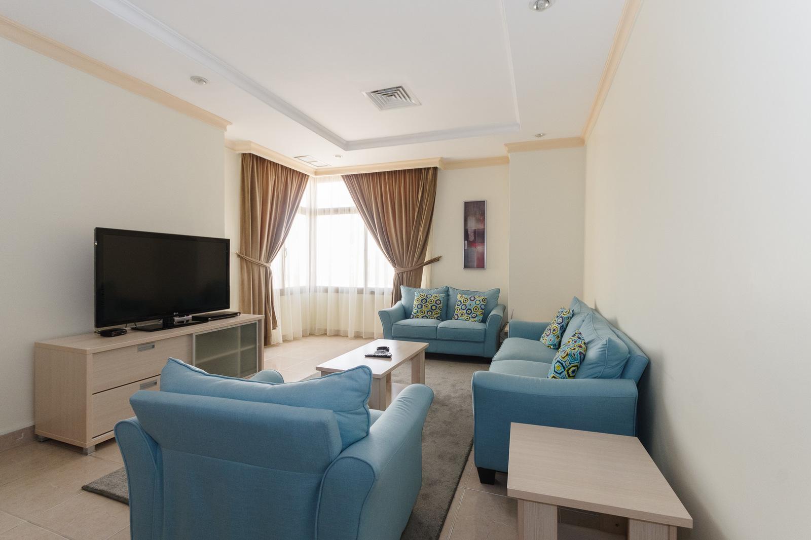 Salmiya – furnished, two and three bedroom apartments
