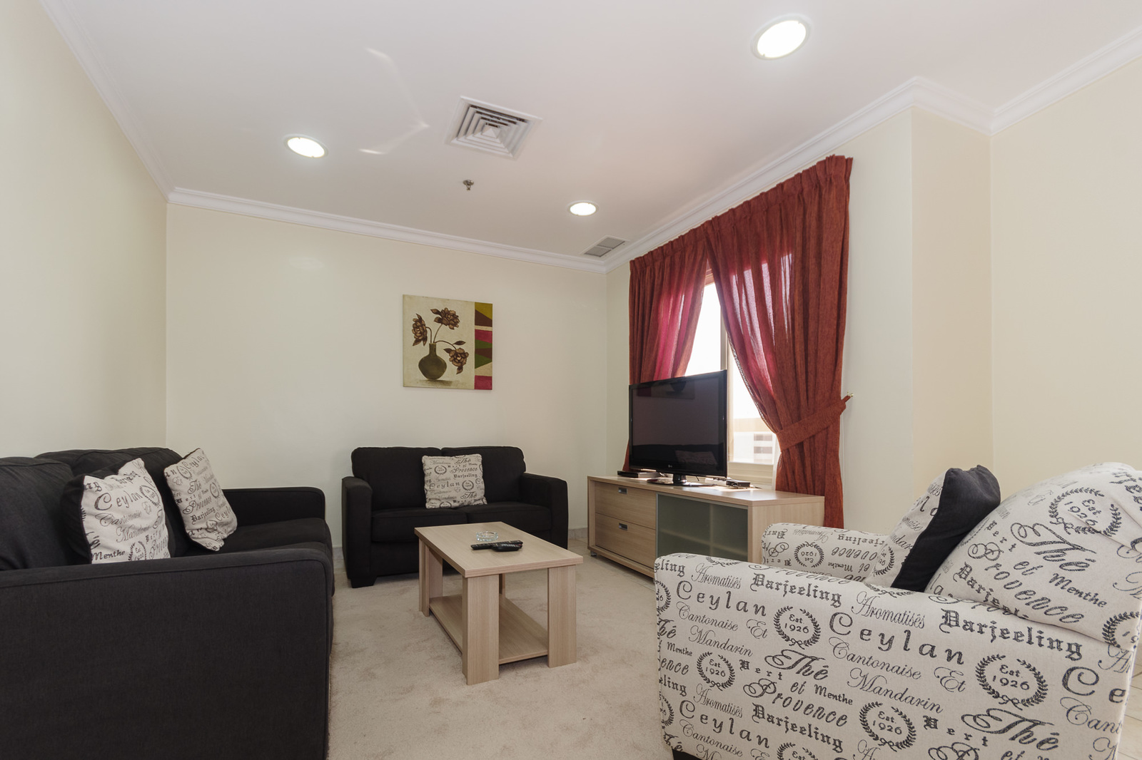 Salmiya – furnished, two bedroom apartments w/pool