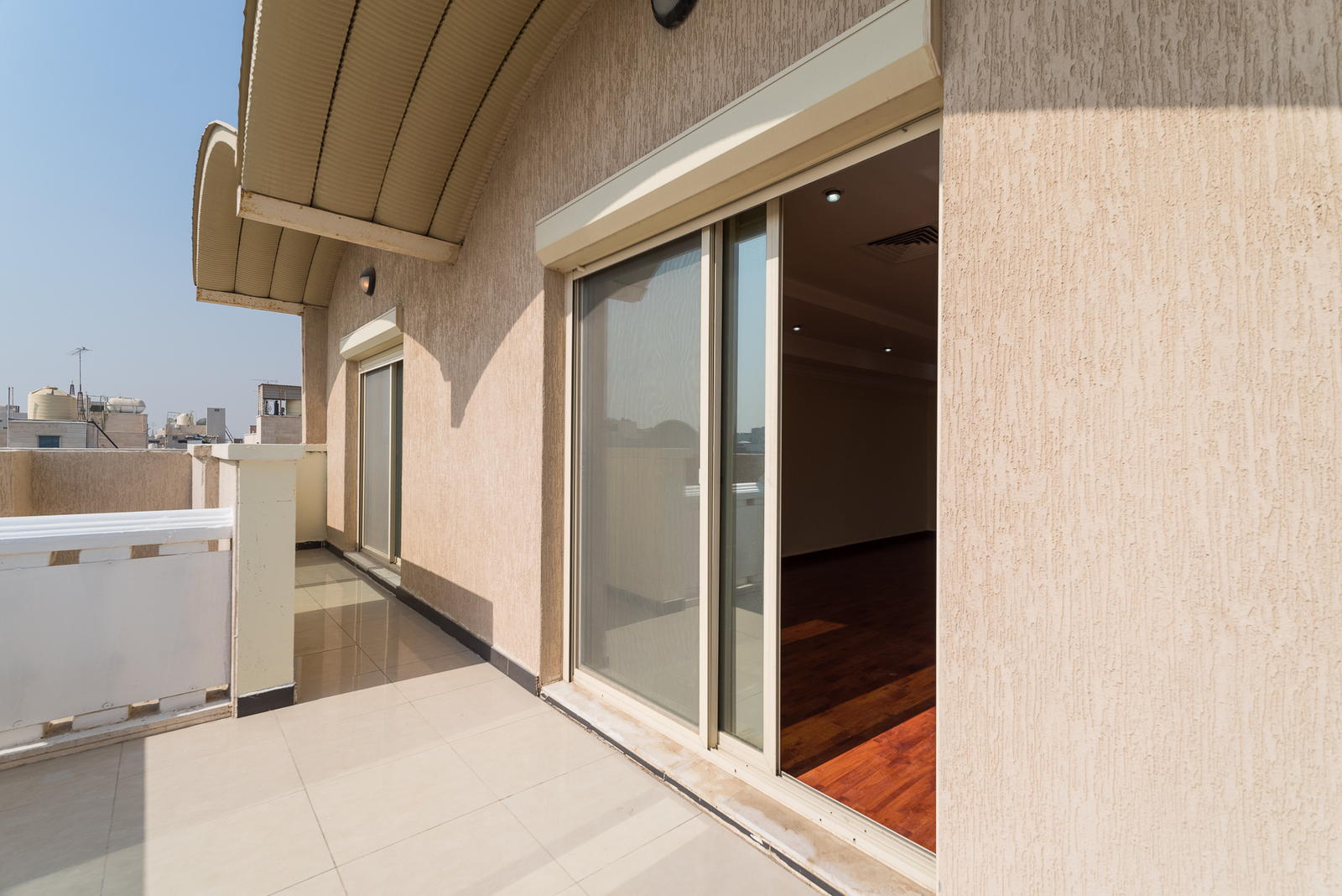 Salwa – older, unfurnished three bedroom apartment w/large balcony
