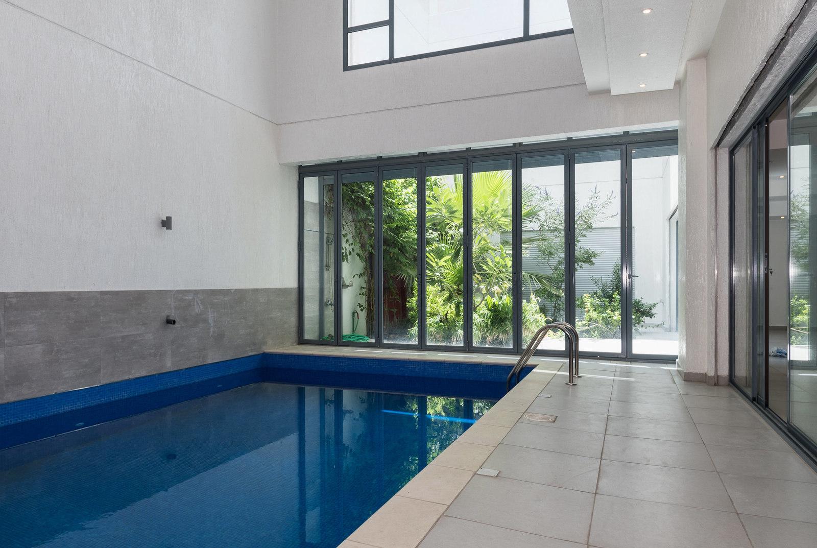 Abu Fatira – unfurnished, three bedroom basement w/private pool