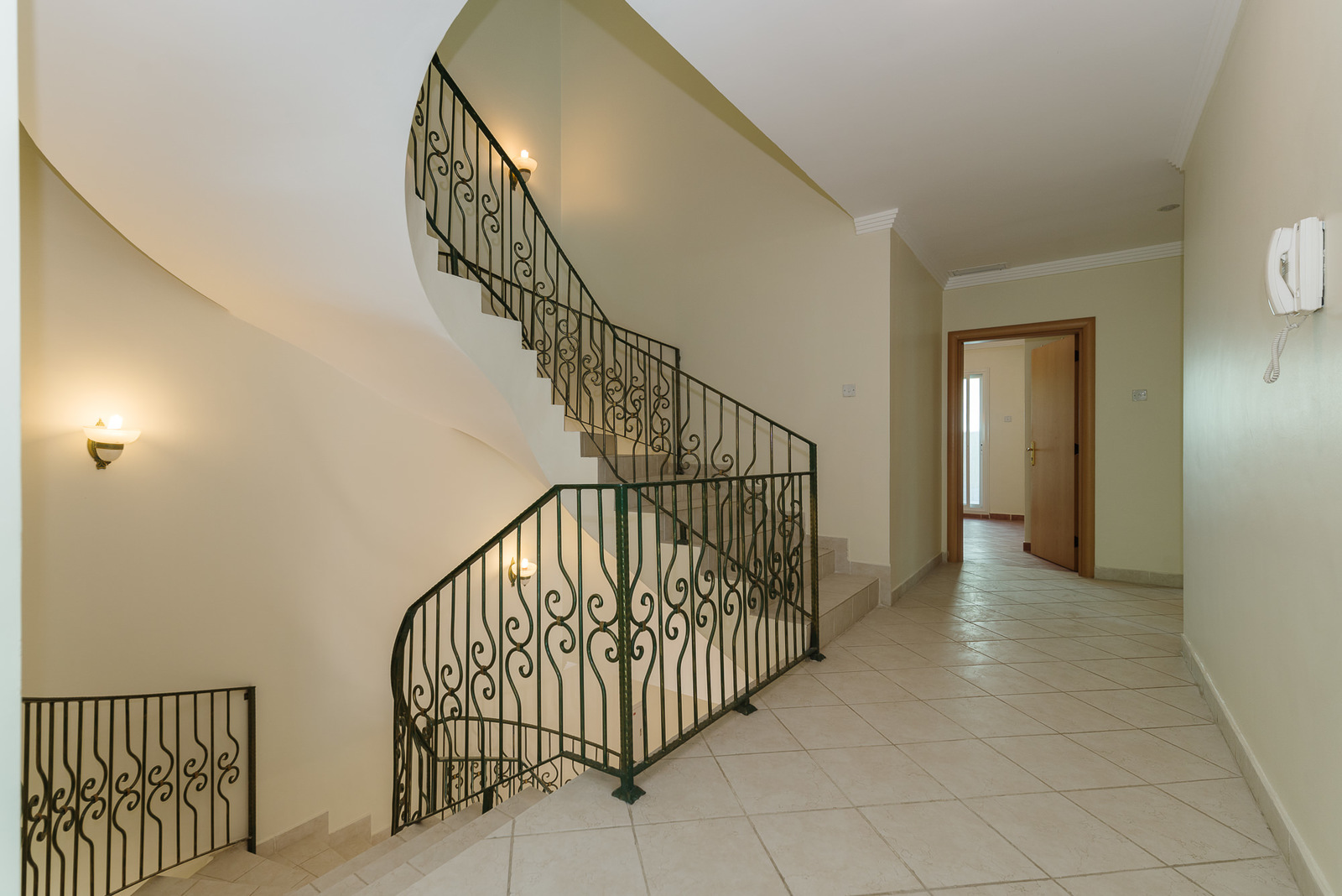 Abu Al Hasania – spacious, unfurnished villa suitable as a home or office.